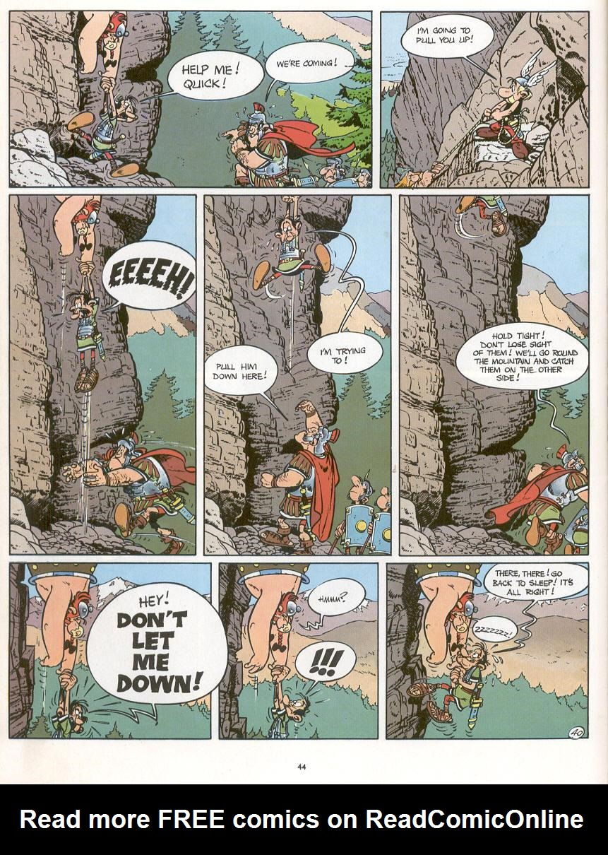 Read online Asterix comic -  Issue #16 - 41
