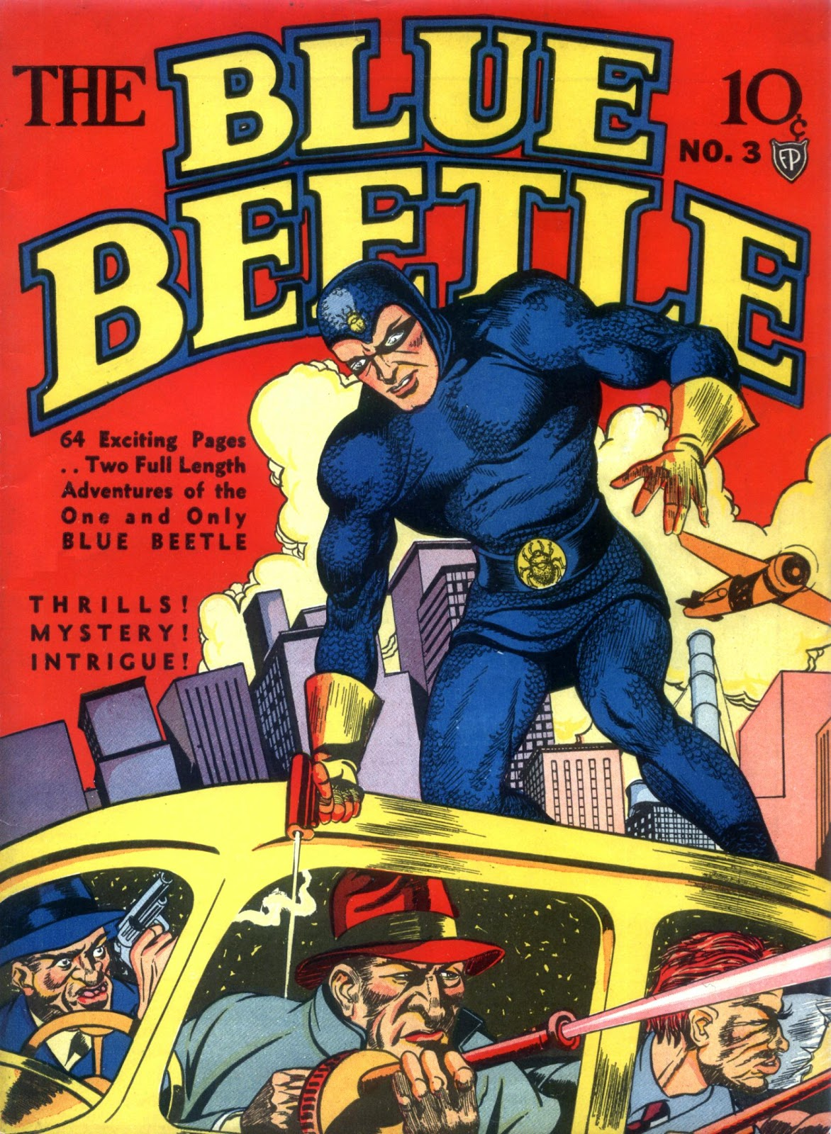 The Blue Beetle 3 Page 1