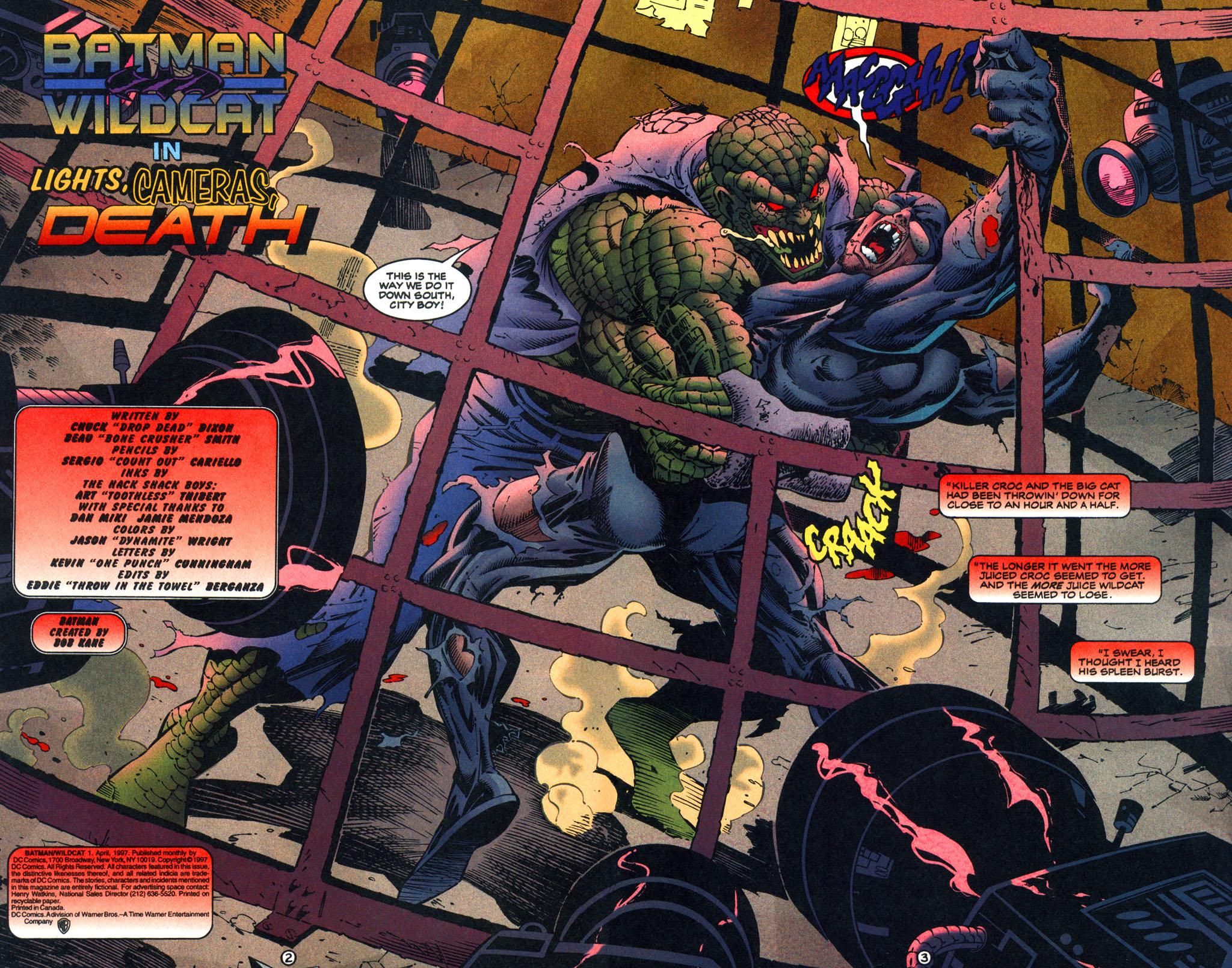 Read online Batman/Wildcat comic -  Issue #1 - 3