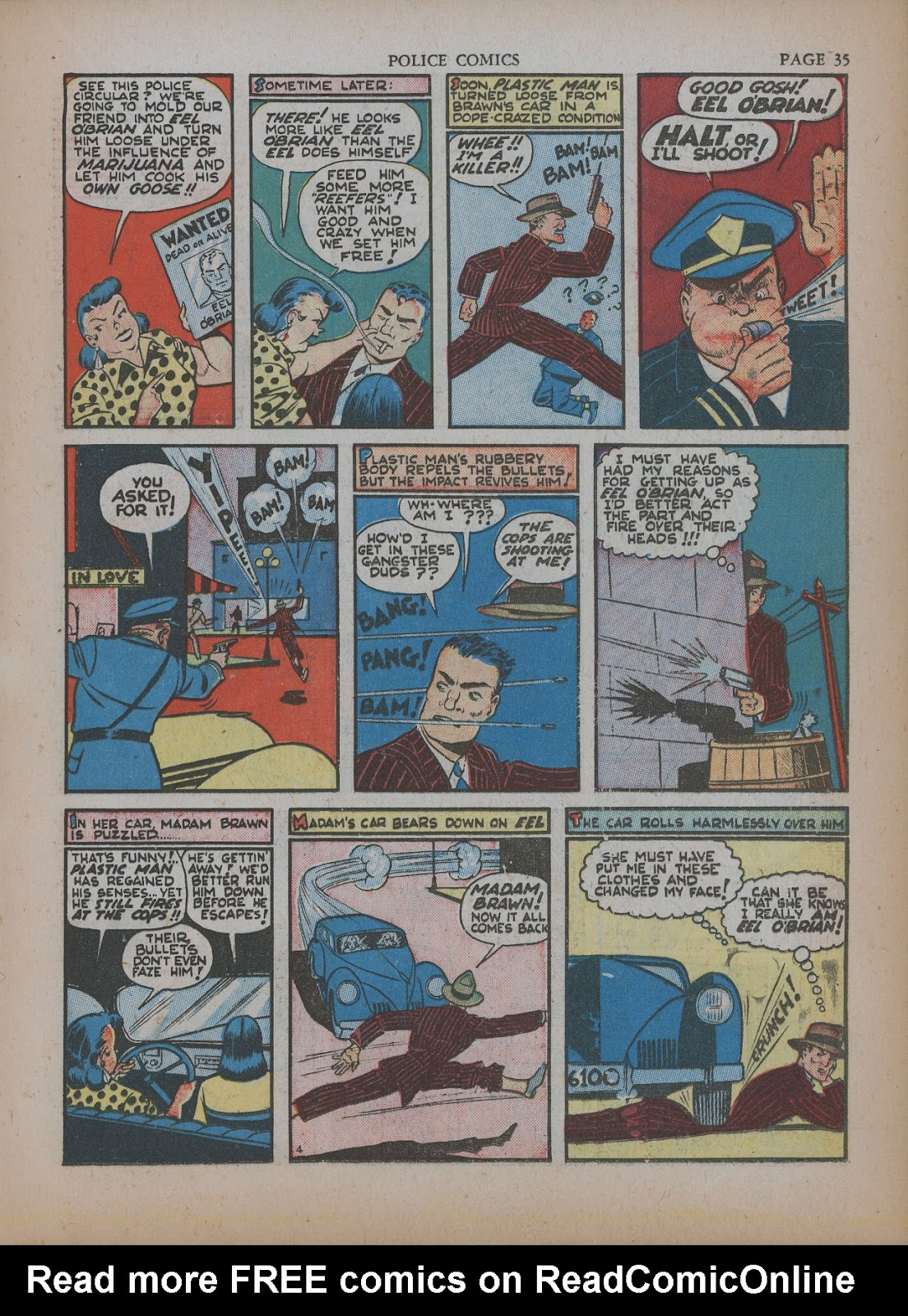 Police Comics issue 5 - Page 39