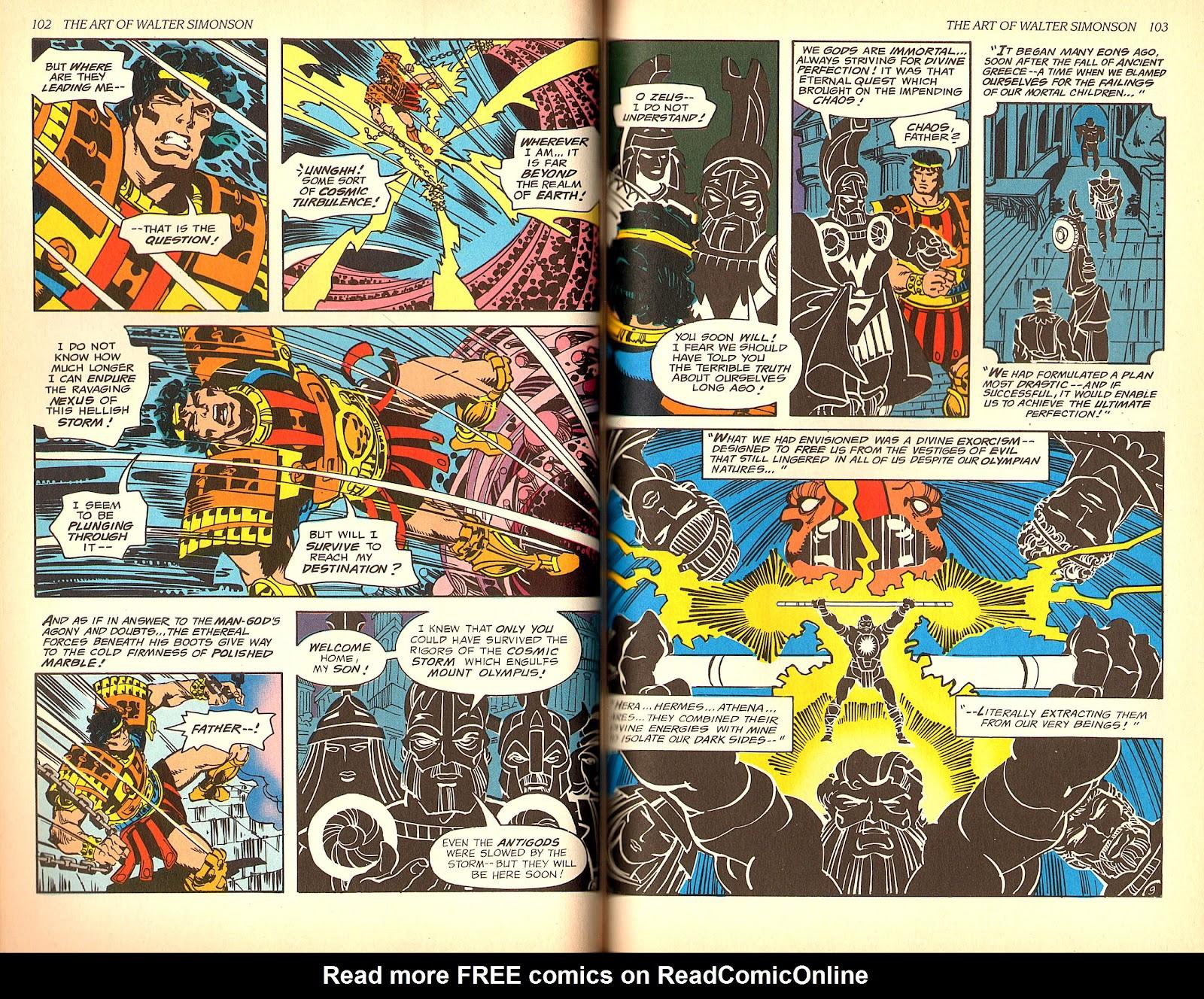 Read online The Art of Walter Simonson comic -  Issue # TPB - 53