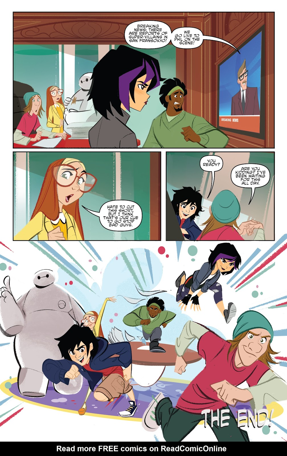 Read online Big Hero 6: The Series comic -  Issue #1 - 18