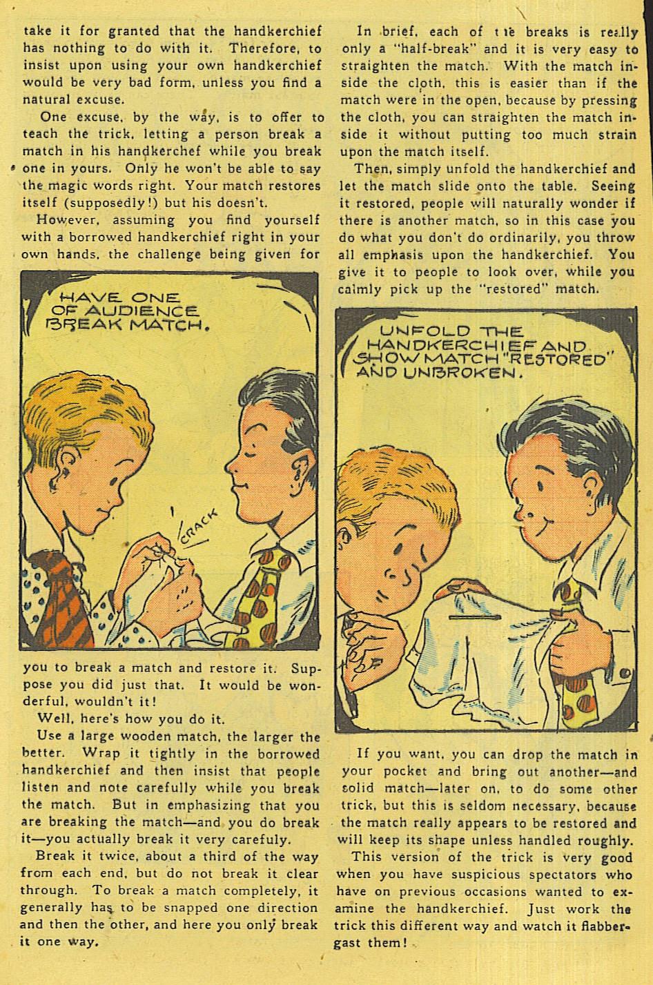 Read online Super-Magician Comics comic -  Issue #42 - 24
