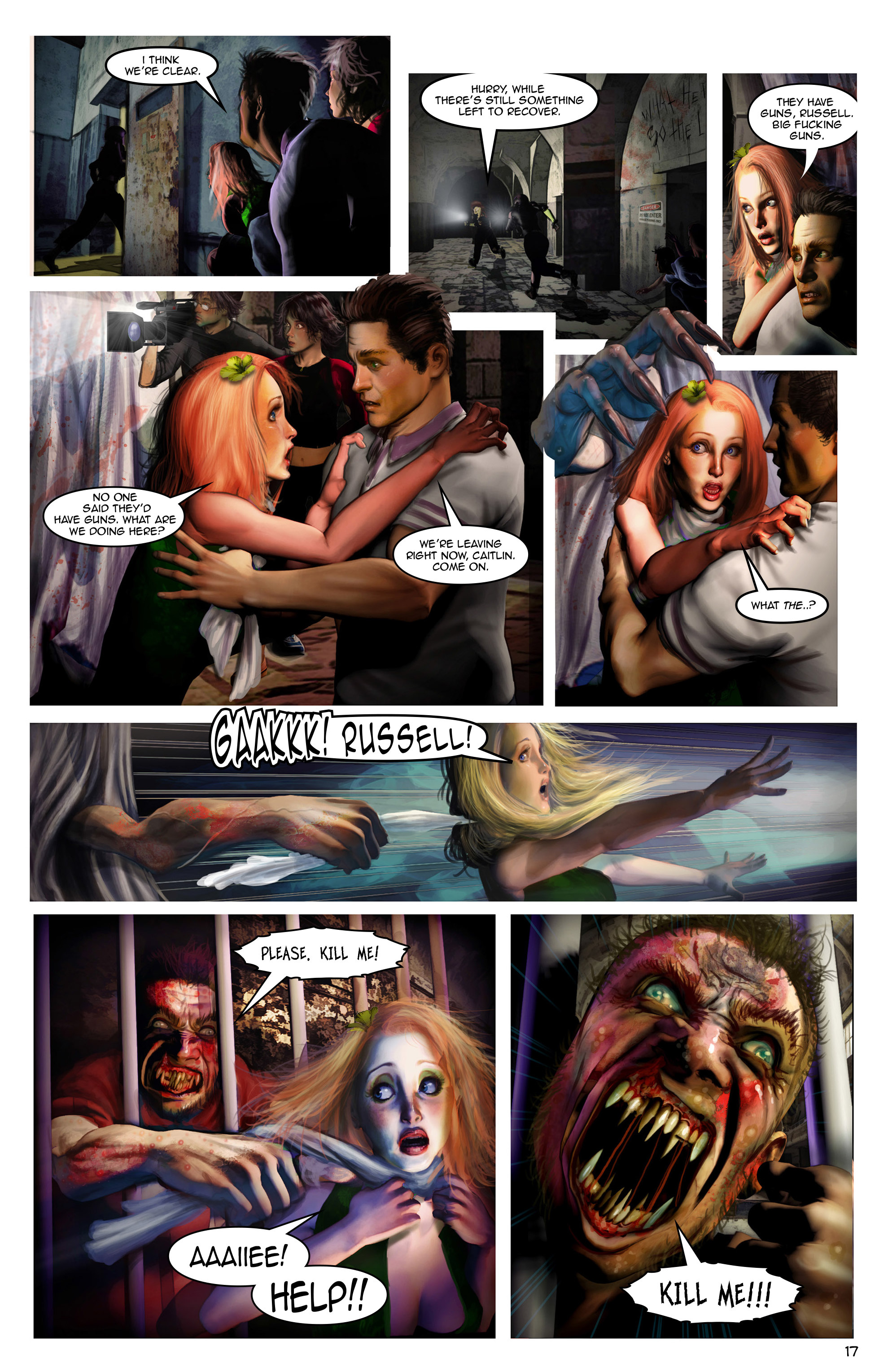 Read online Escape from Jesus Island comic -  Issue #1 - 17