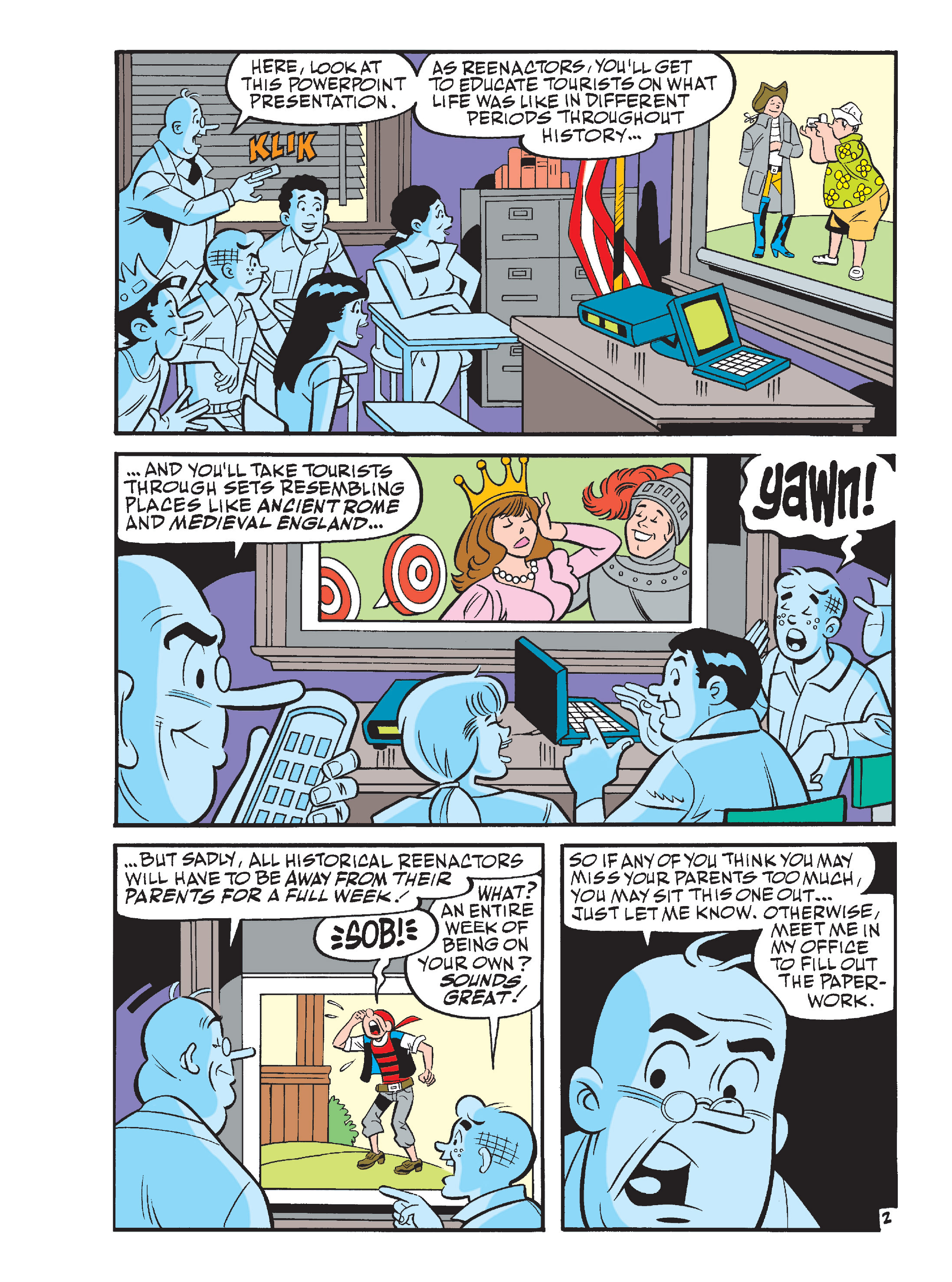Read online Archie's Funhouse Double Digest comic -  Issue #15 - 37
