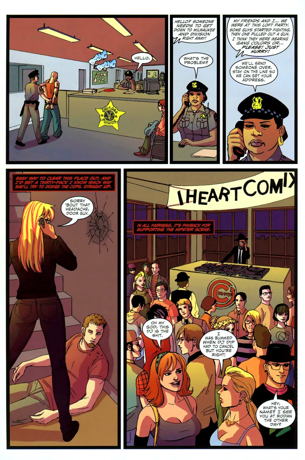 Read online Mercy Sparx (2008) comic -  Issue #2 - 12
