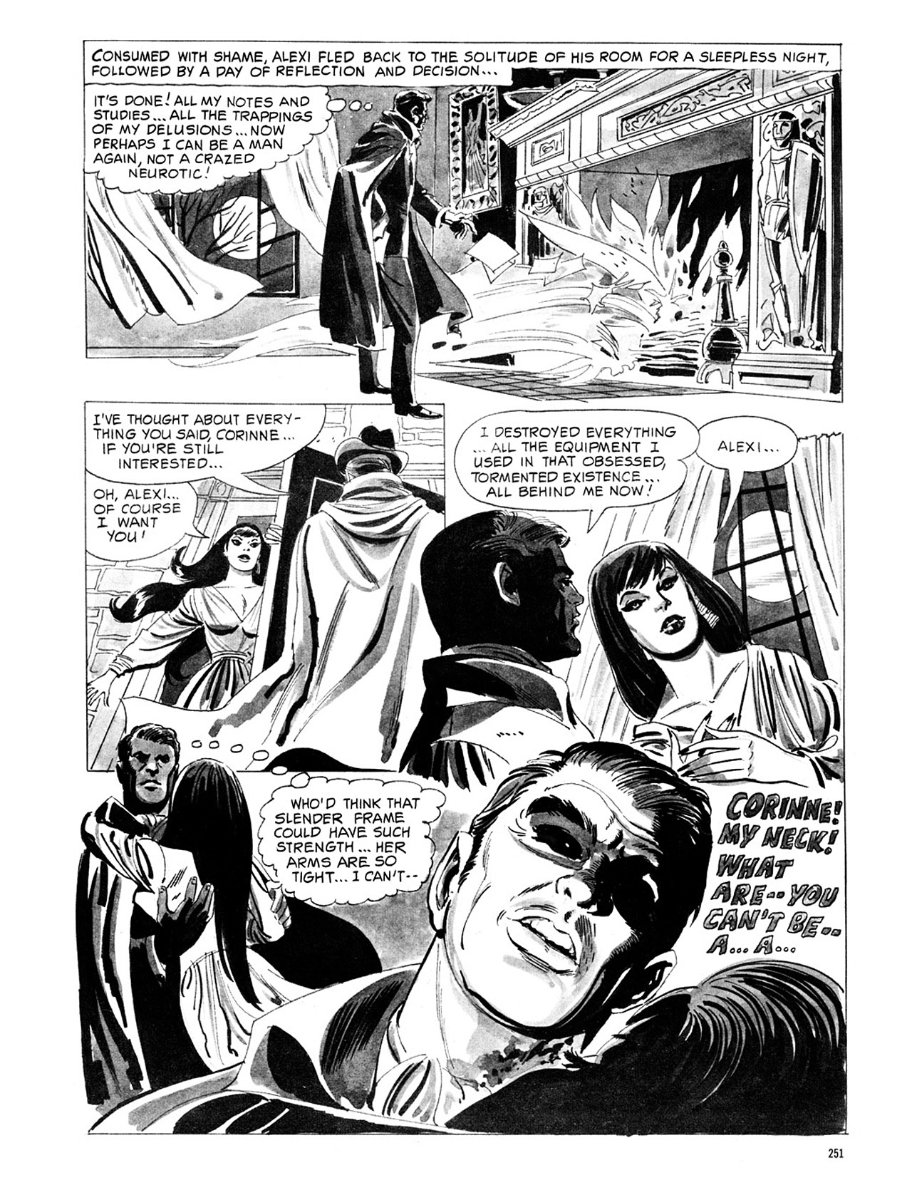 Read online Eerie Archives comic -  Issue # TPB 1 - 252
