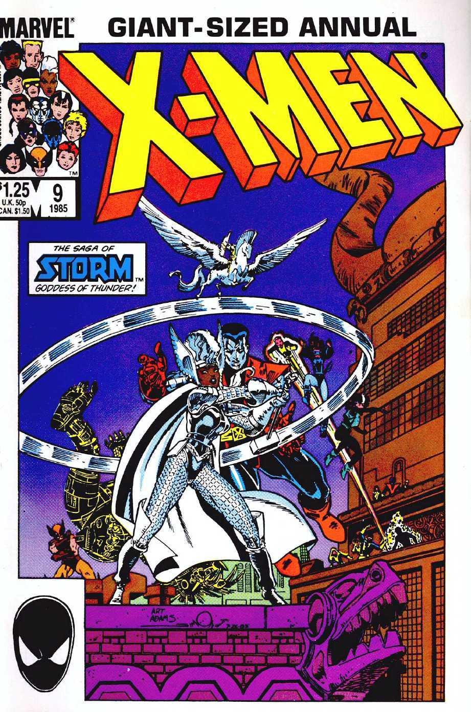 Uncanny X-Men (1963) _Annual_9 Page 1