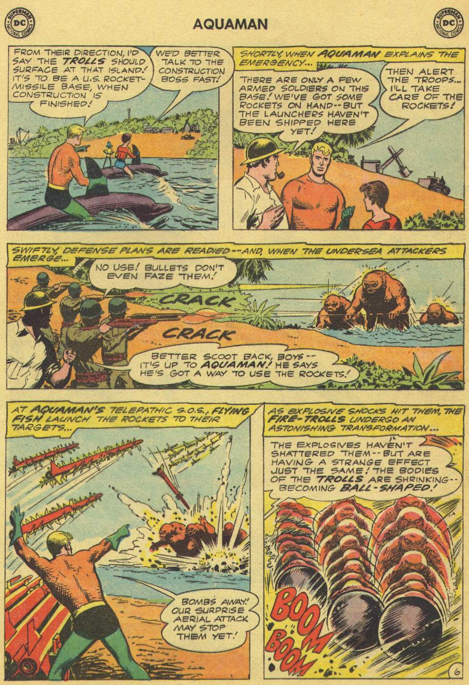 Read online Aquaman (1962) comic -  Issue #1 - 8
