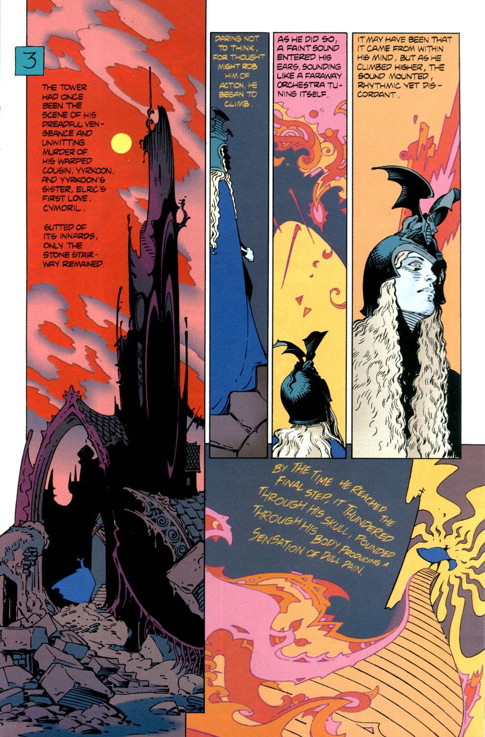 Read online Elric: Stormbringer comic -  Issue #6 - 13