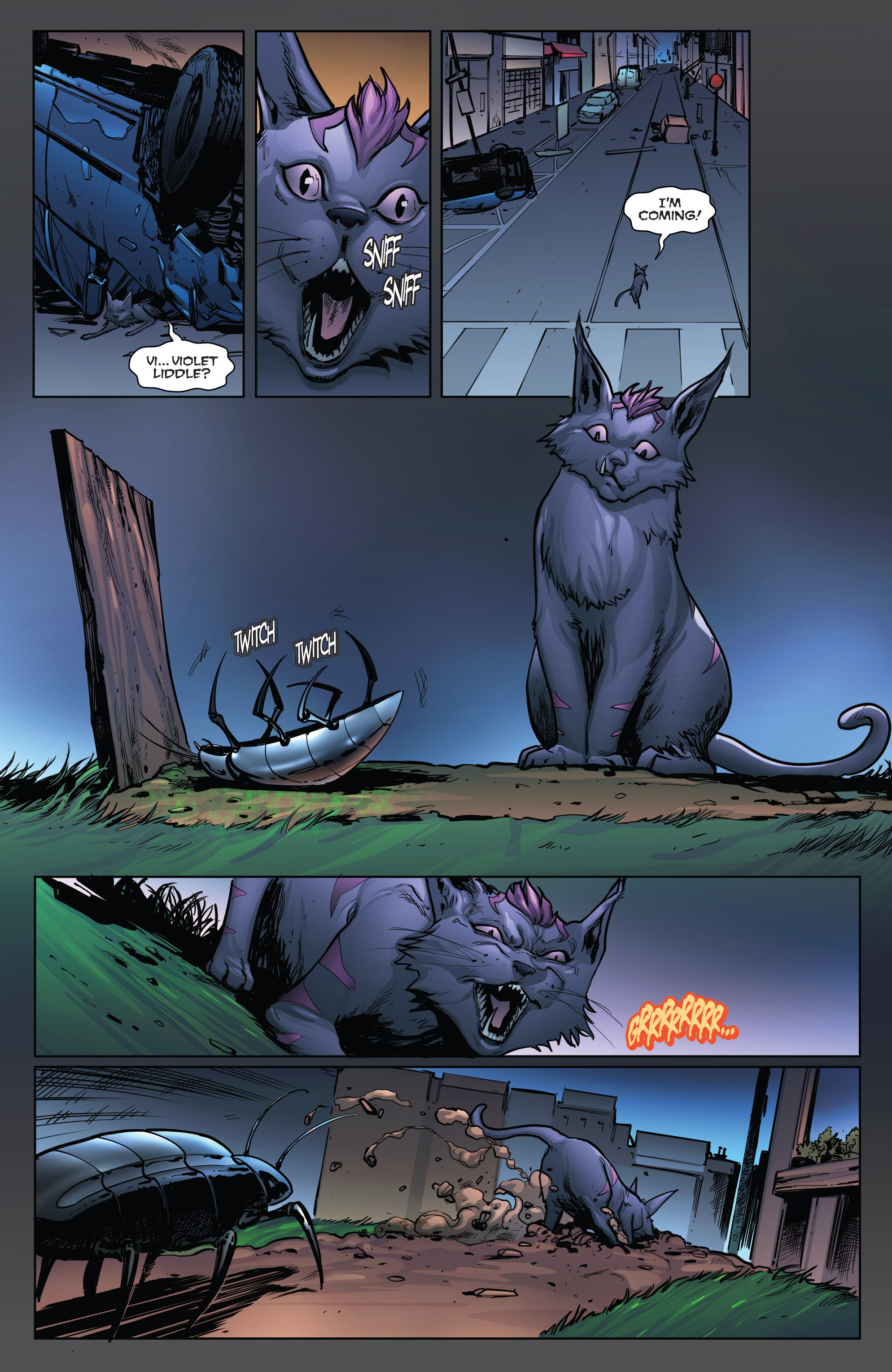 Read online Grimm Fairy Tales: Arcane Acre comic -  Issue # TPB 4 - 170