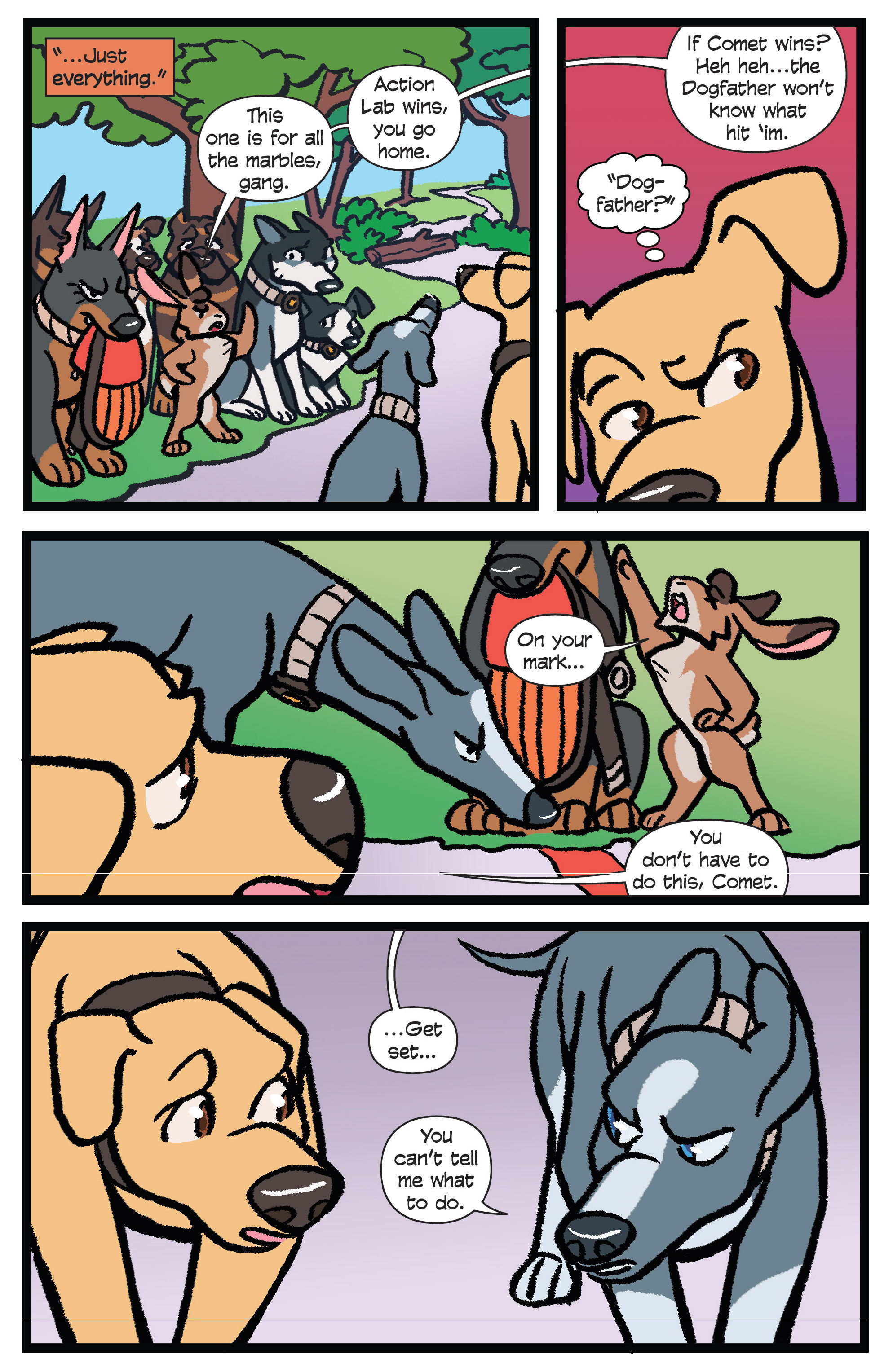 Read online Action Lab, Dog of Wonder comic -  Issue #5 - 12