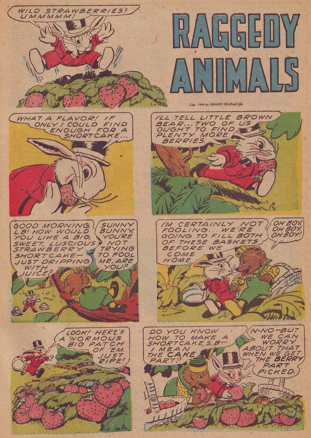 Read online Animal Comics comic -  Issue #12 - 45