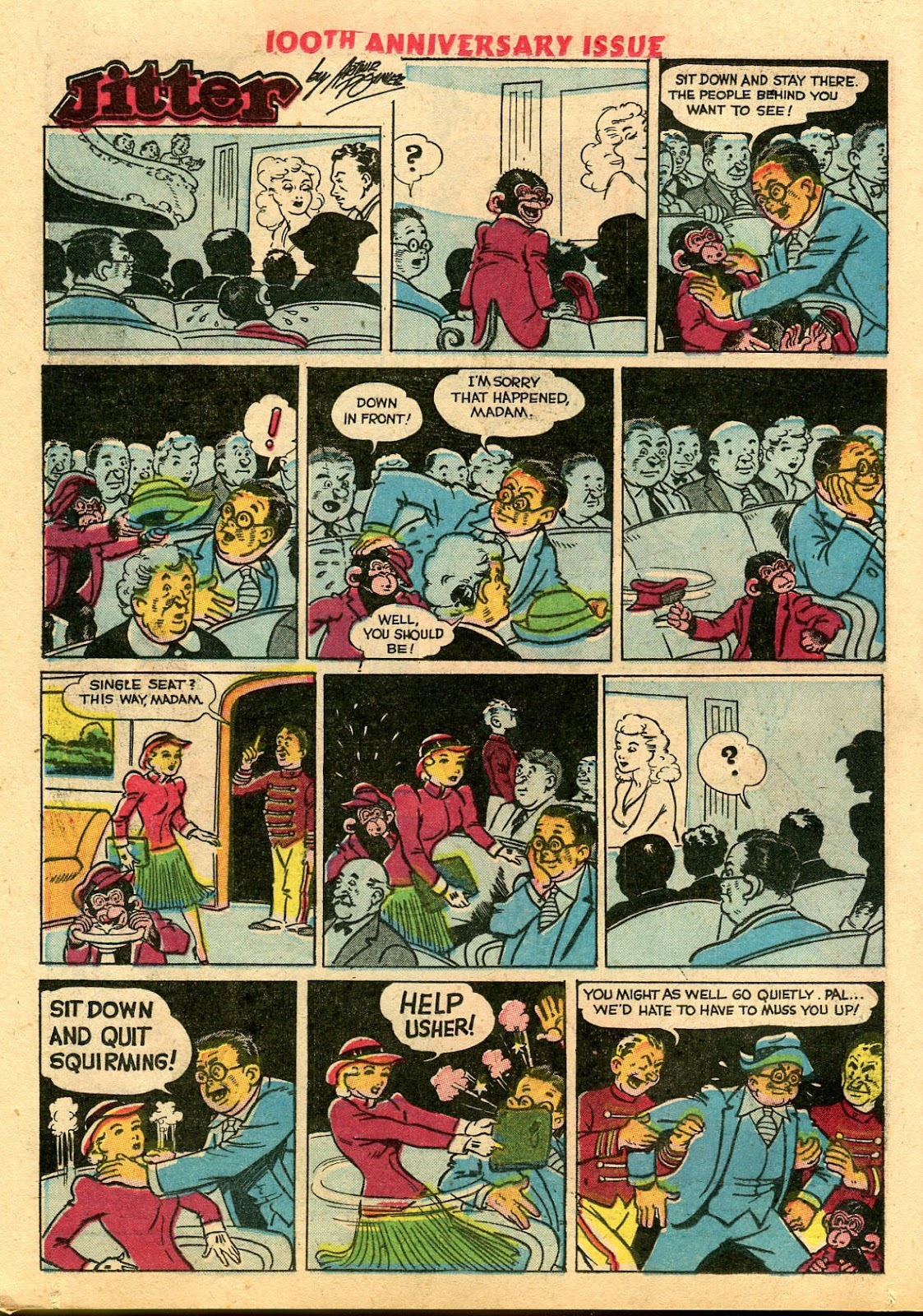 Read online Famous Funnies comic -  Issue #100 - 24