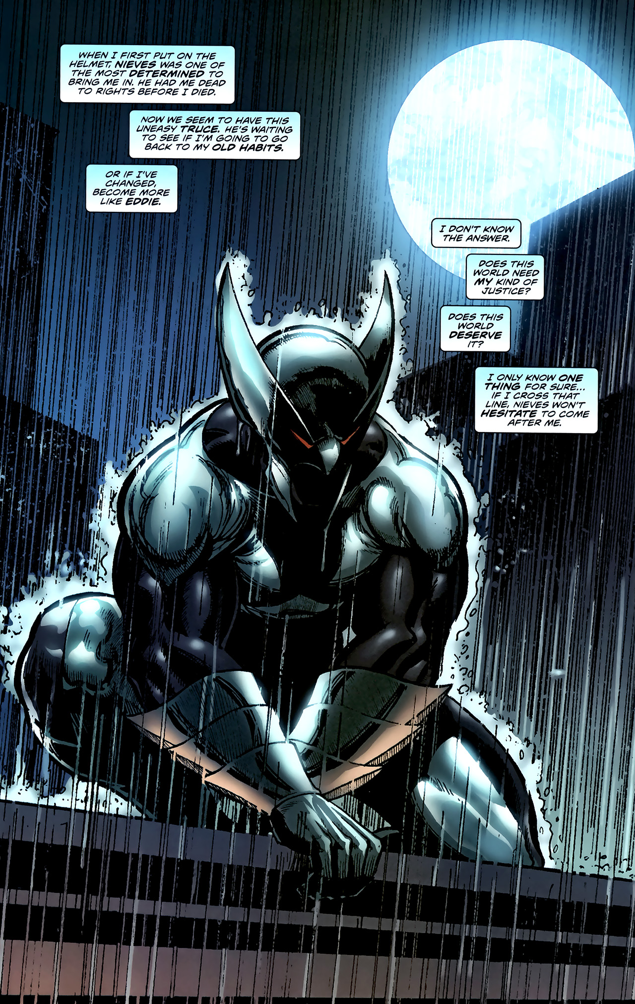Read online ShadowHawk (2010) comic -  Issue #4 - 9