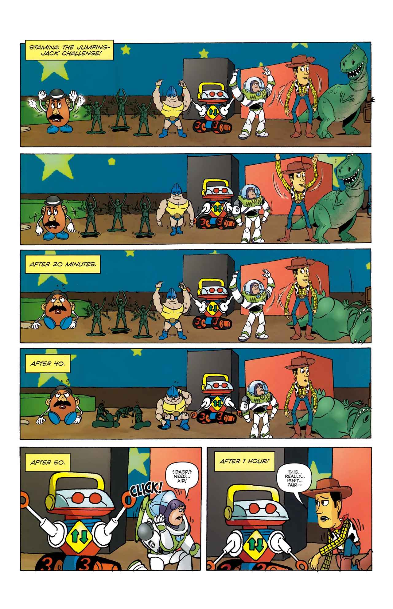 Read online Toy Story (2009) comic -  Issue #4 - 17