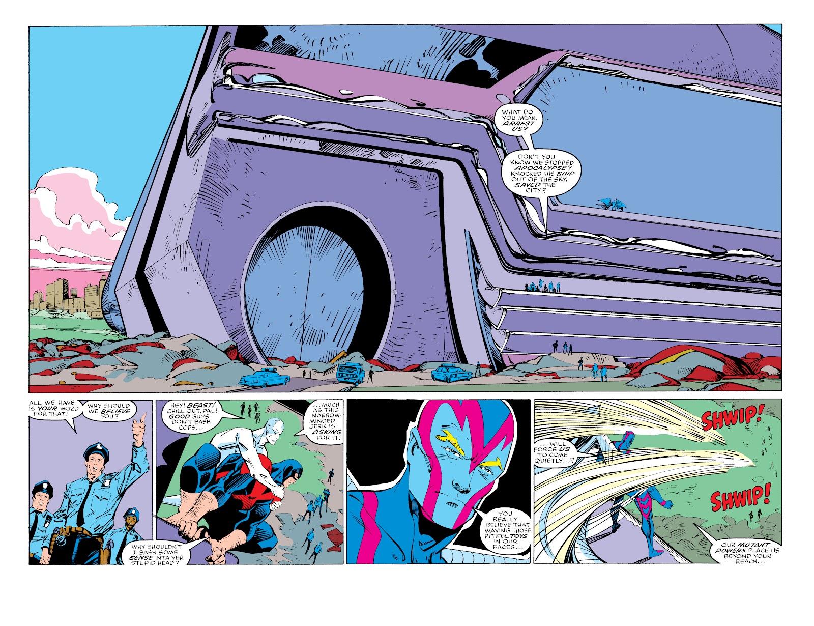 Read online X-Men Milestones: Fall of the Mutants comic -  Issue # TPB (Part 3) - 47