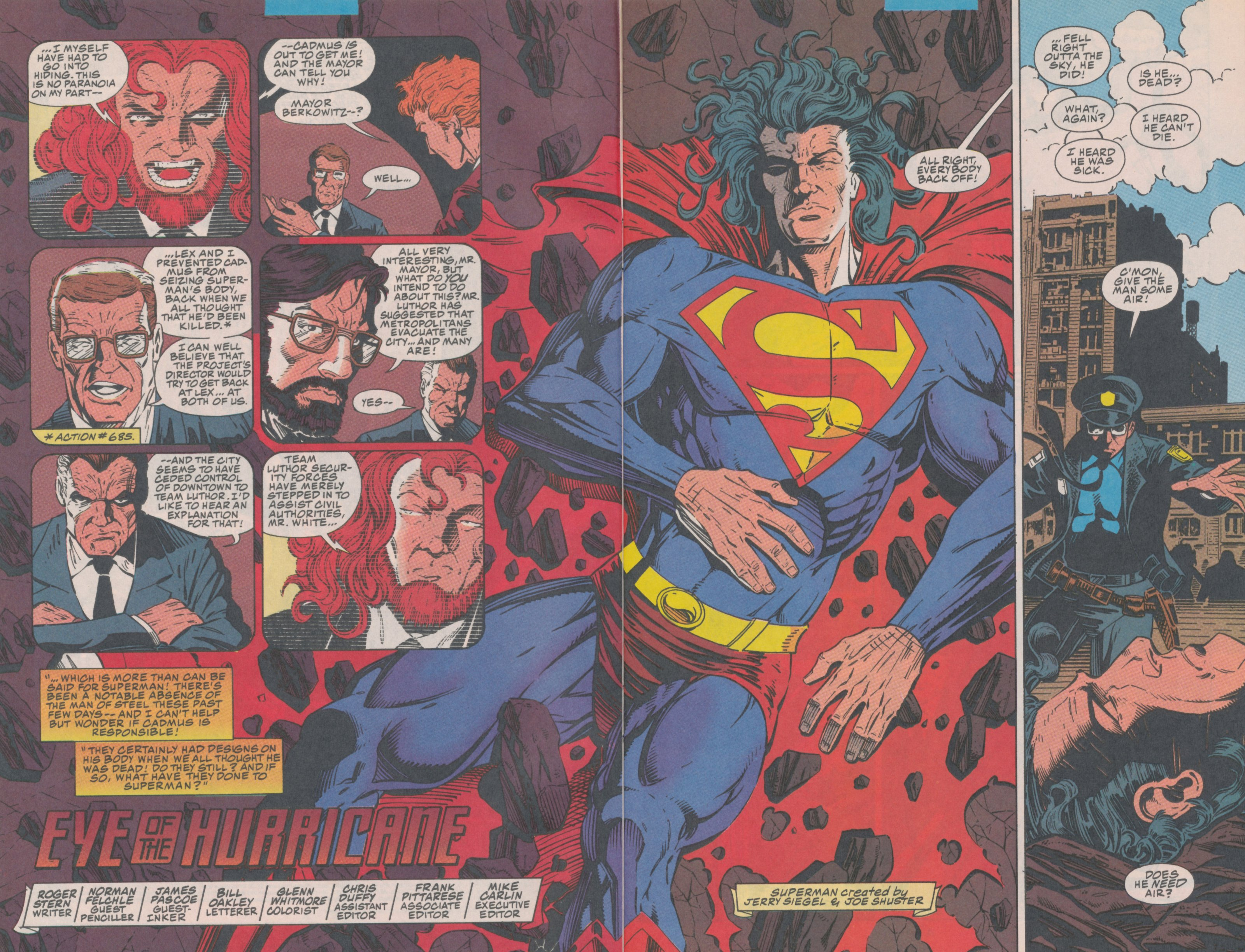 Read online Action Comics (1938) comic -  Issue #699 - 4