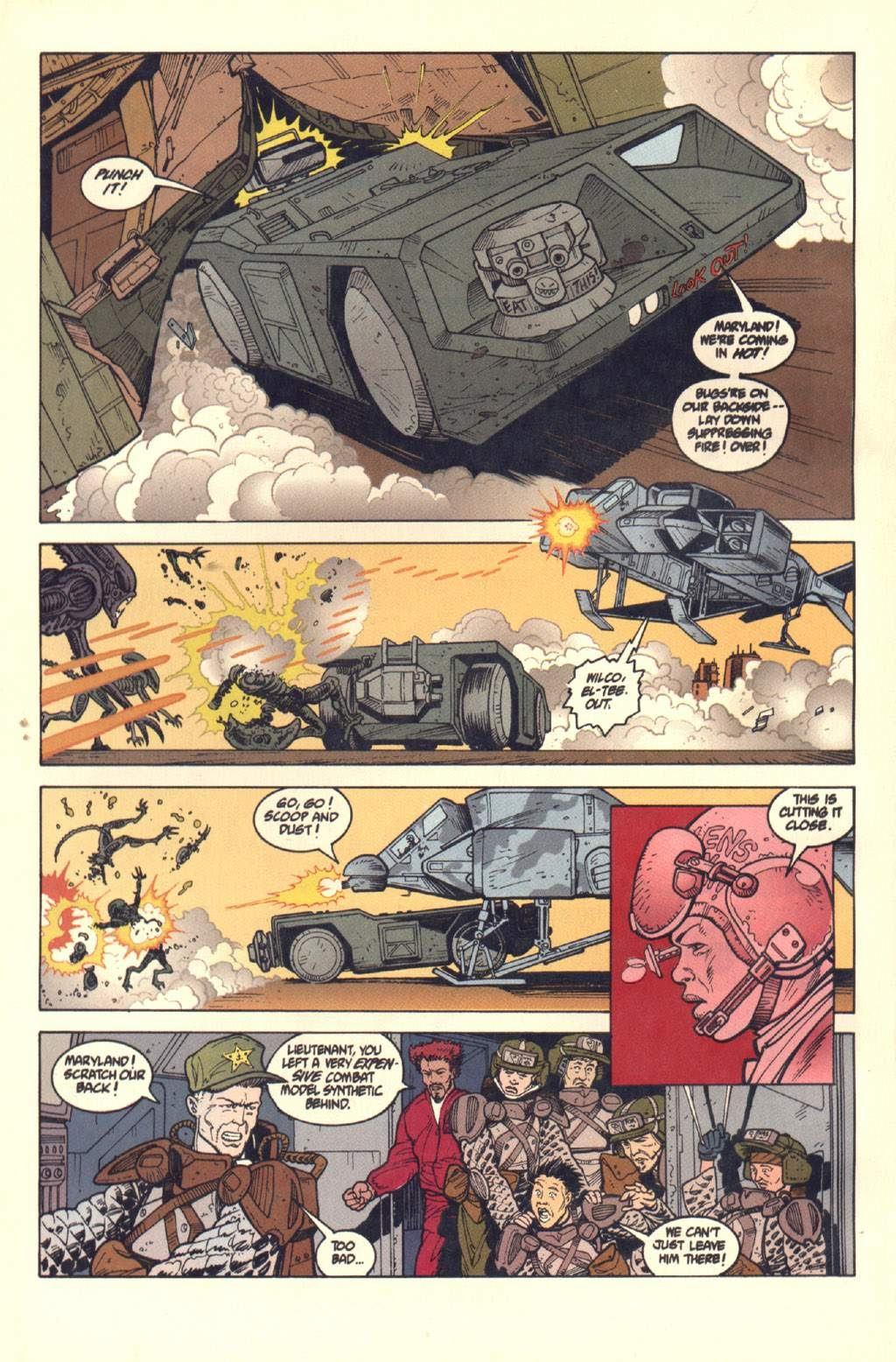 Read online Aliens: Colonial Marines comic -  Issue #7 - 23