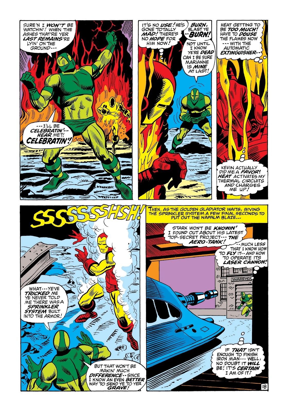 Read online Marvel Masterworks: The Invincible Iron Man comic -  Issue # TPB 8 (Part 2) - 62