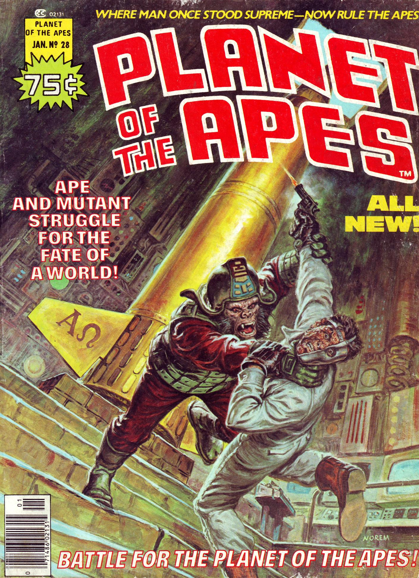 Planet of the Apes (1974) 28 Page 1