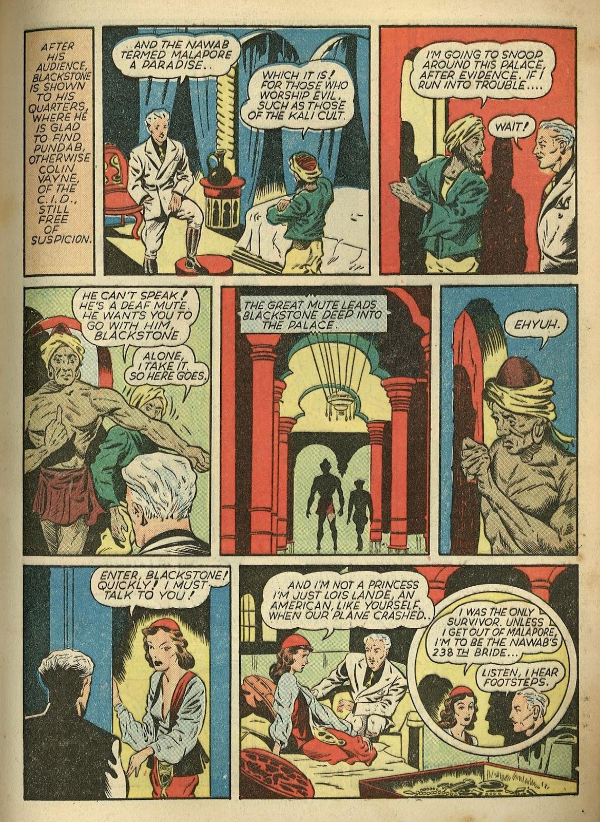 Read online Super-Magician Comics comic -  Issue #1 - 15