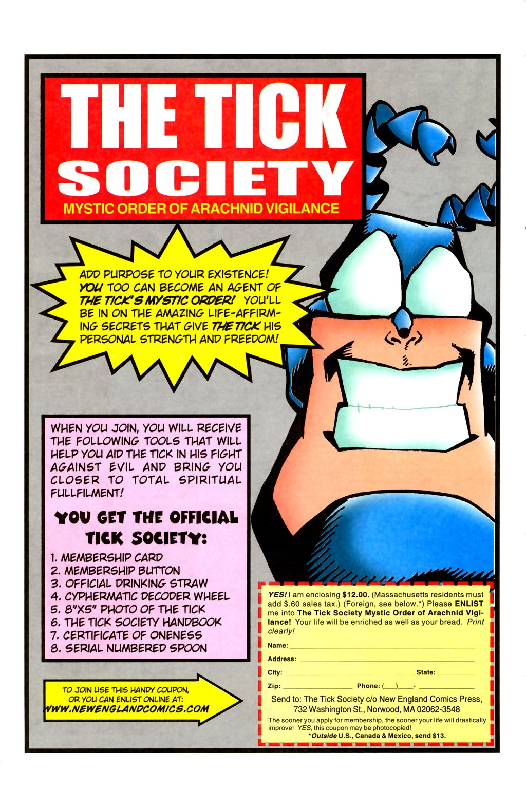 Read online The Tick: Days of Drama comic -  Issue #2 - 29