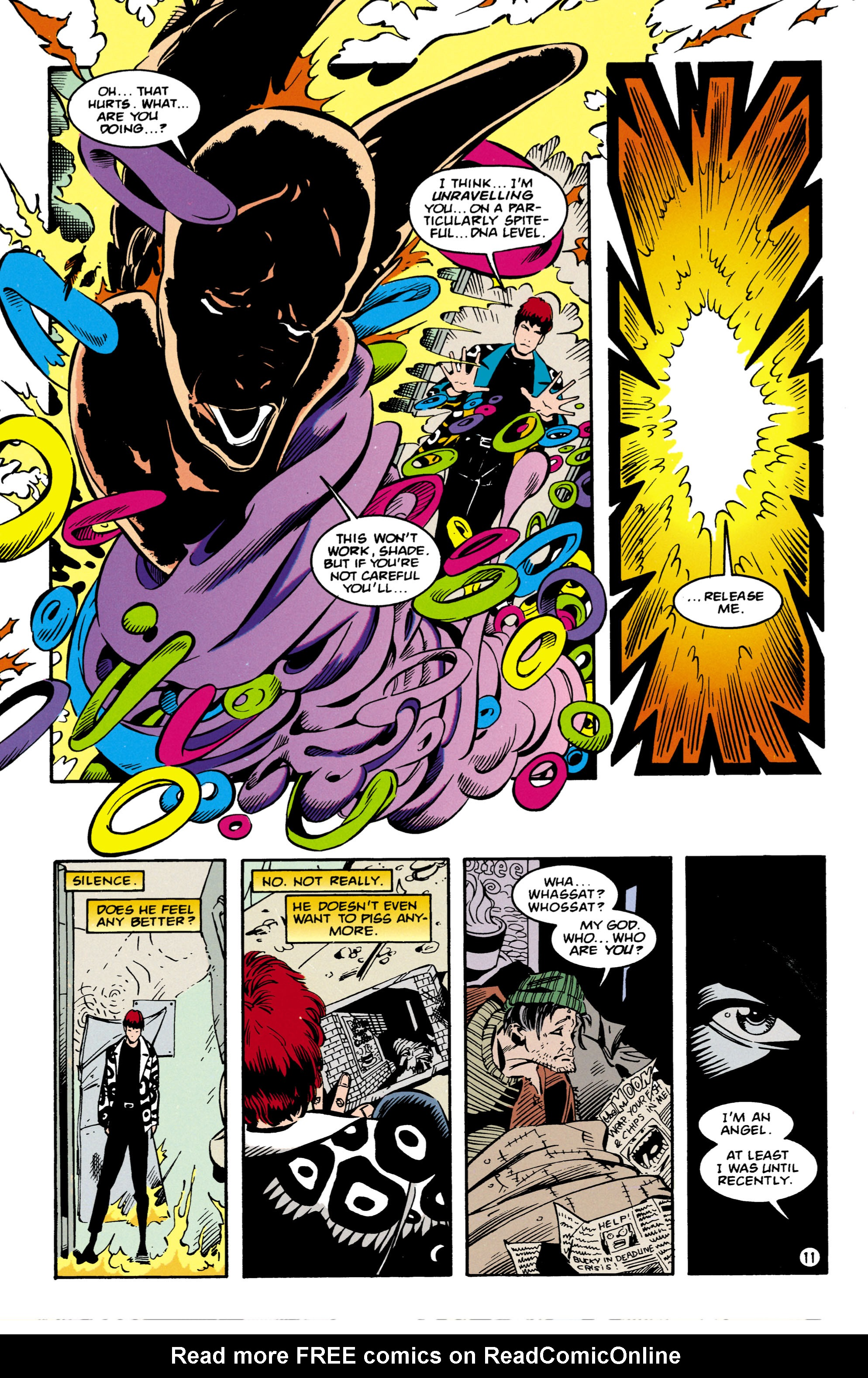 Read online Shade, the Changing Man comic -  Issue #57 - 12