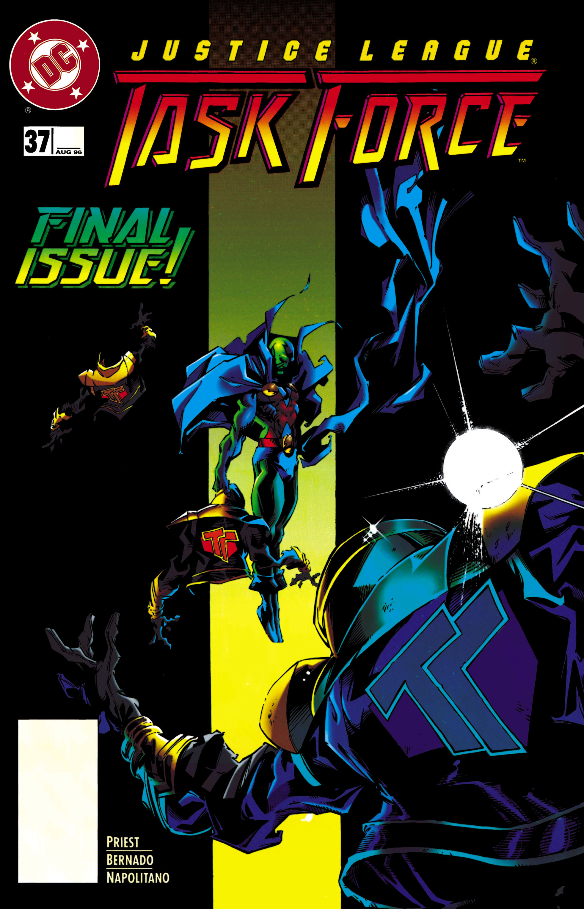 Justice League Task Force 37 Page 1