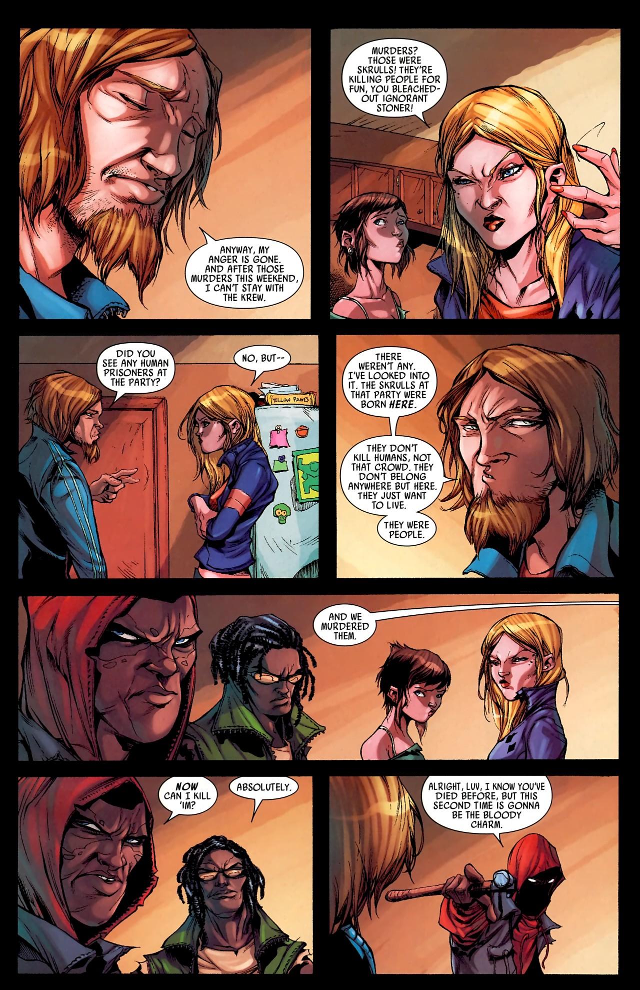 Read online Skrull Kill Krew (2009) comic -  Issue #4 - 15