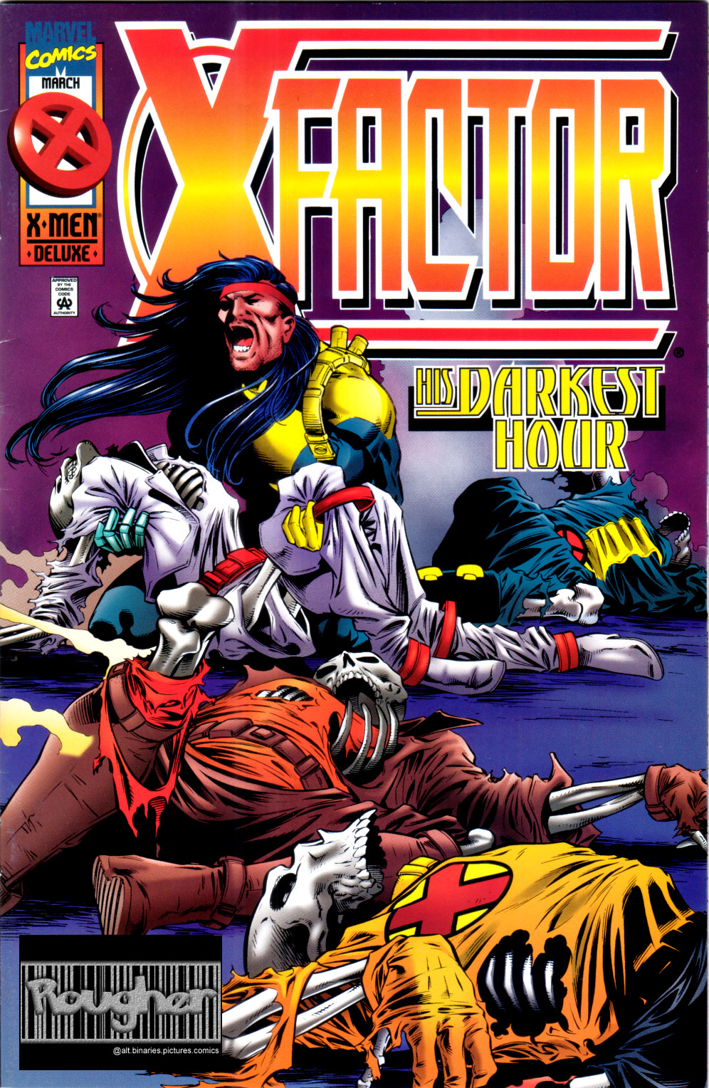 Read online X-Factor (1986) comic -  Issue #120 - 1