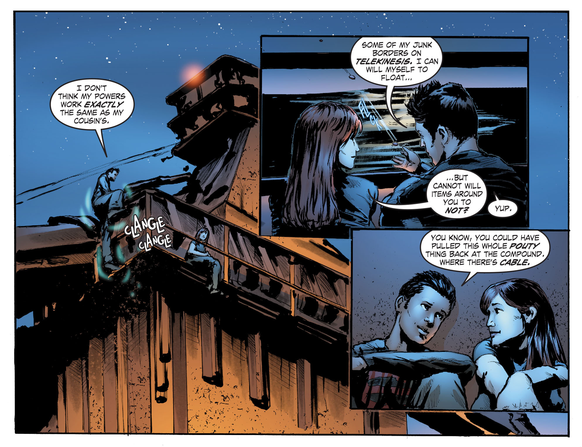 Read online Smallville: Titans comic -  Issue #2 - 16