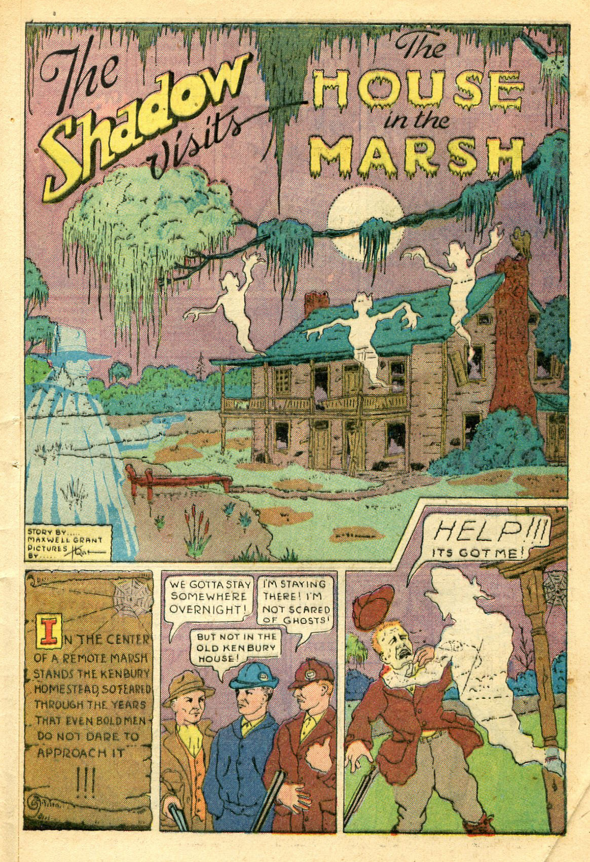 Read online Shadow Comics comic -  Issue #44 - 50