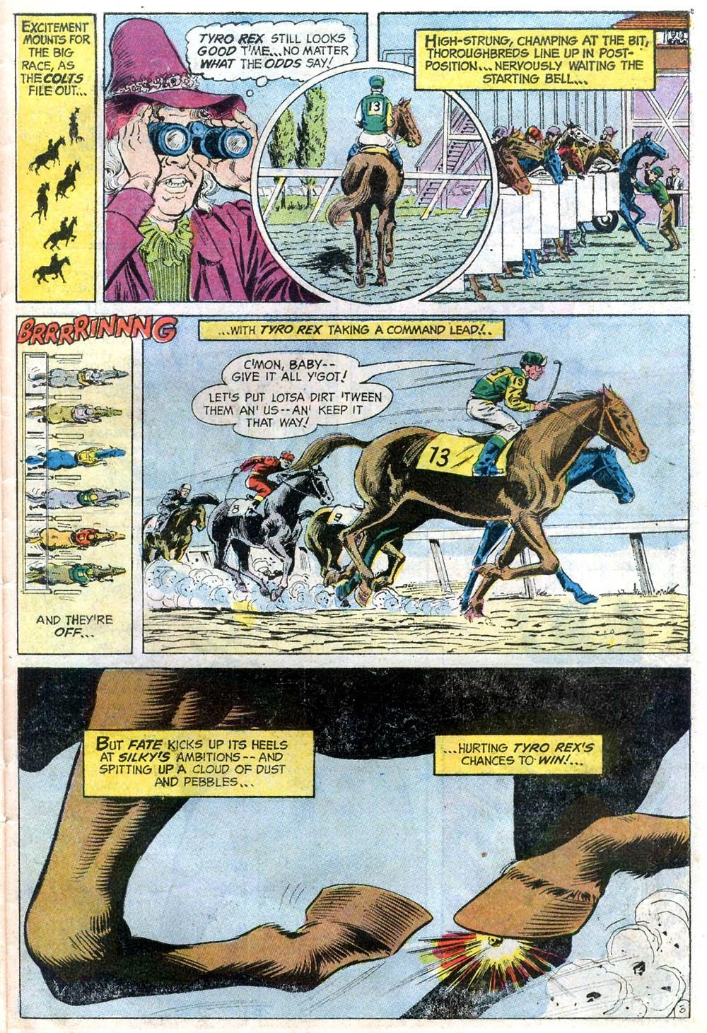Read online Strange Sports Stories (1973) comic -  Issue #2 - 18