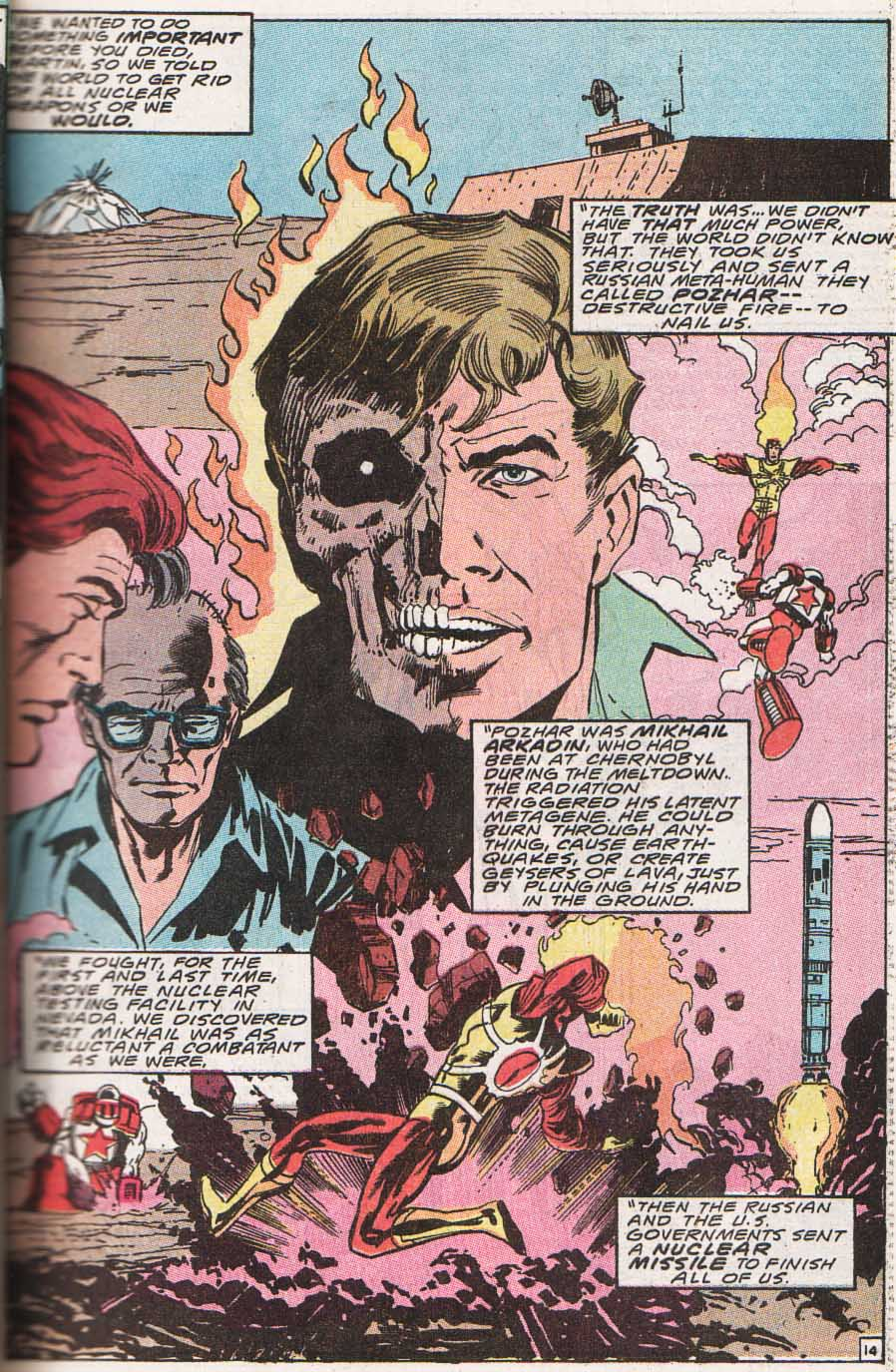 Firestorm, the Nuclear Man Issue #100 #36 - English 15