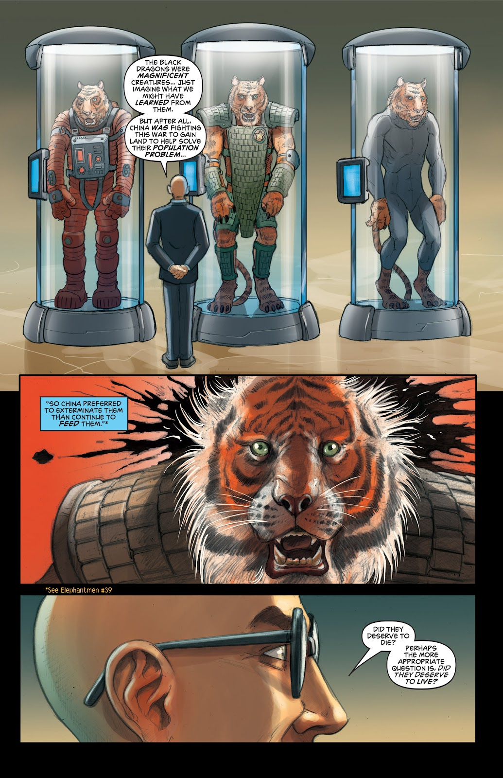 Read online Elephantmen 2261 Season Two: The Pentalion Job comic -  Issue # TPB - 20