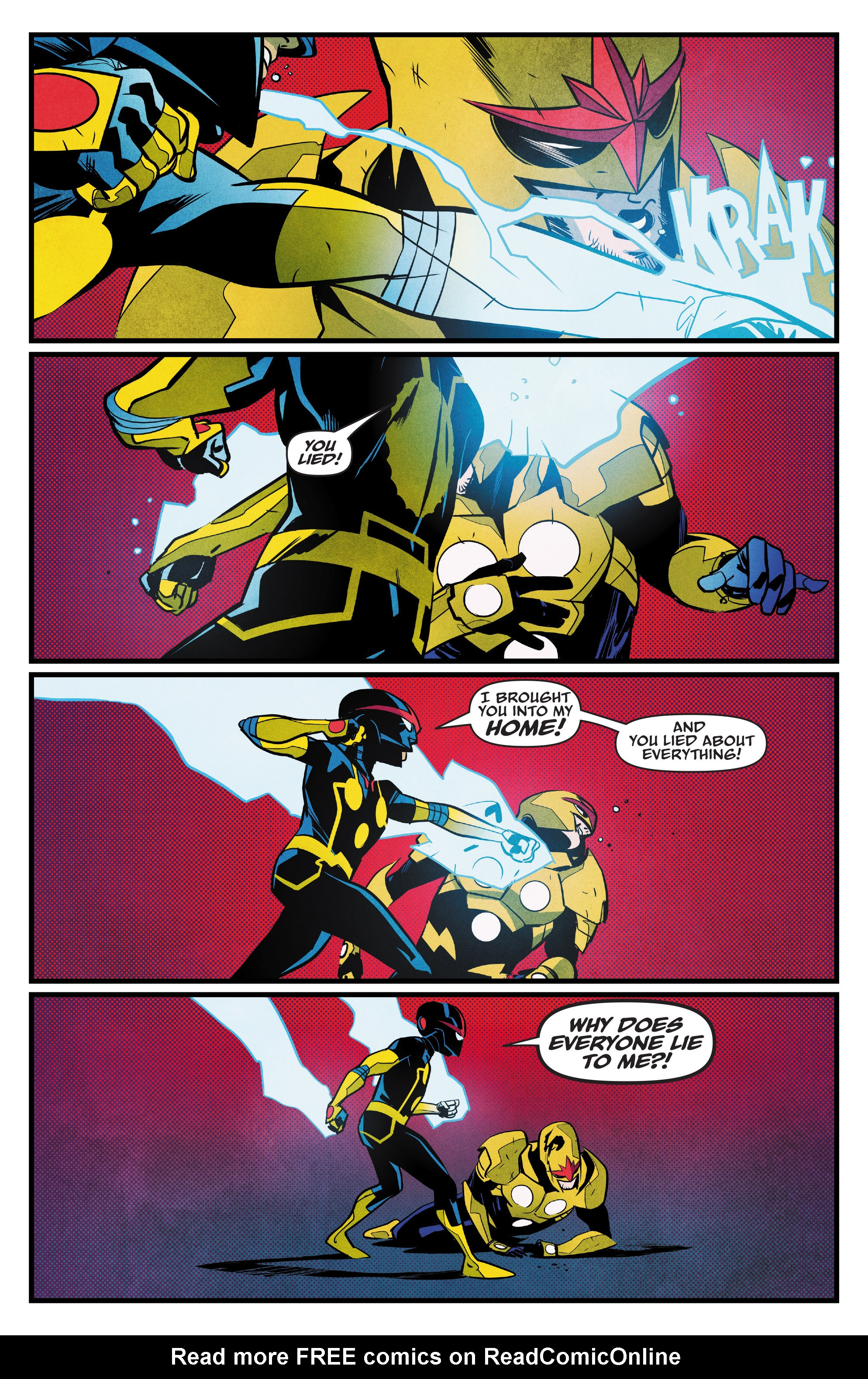 Read online Nova (2017) comic -  Issue #5 - 14