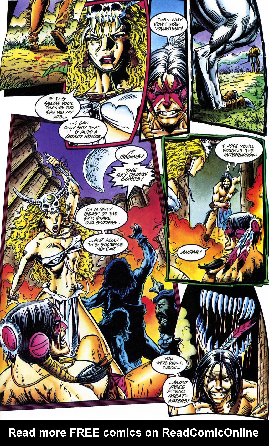 Read online Turok, Dinosaur Hunter (1993) comic -  Issue #35 - 14