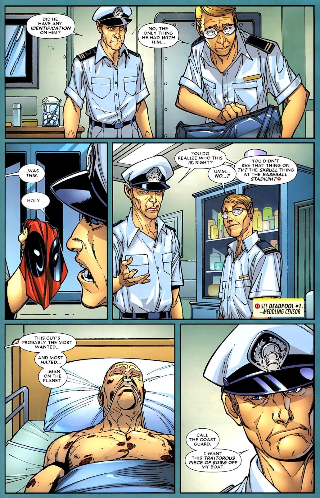 Read online Deadpool (2008) comic -  Issue #15 - 16