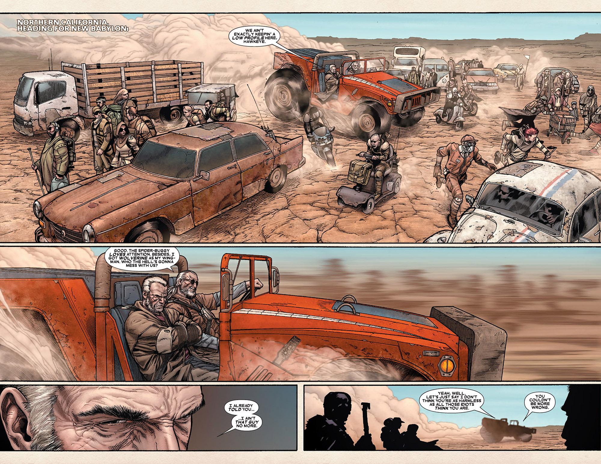 Read online Wolverine: Old Man Logan comic -  Issue # Full - 27