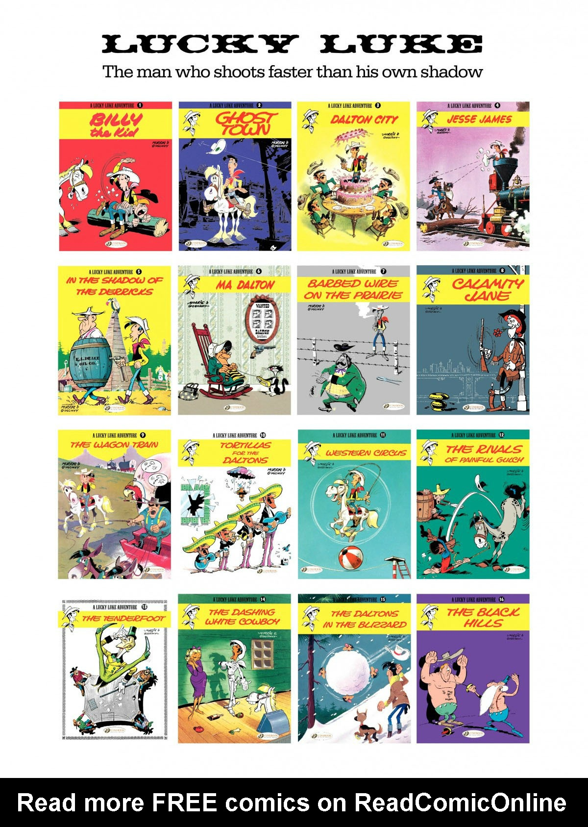 Read online A Lucky Luke Adventure comic -  Issue #27 - 48