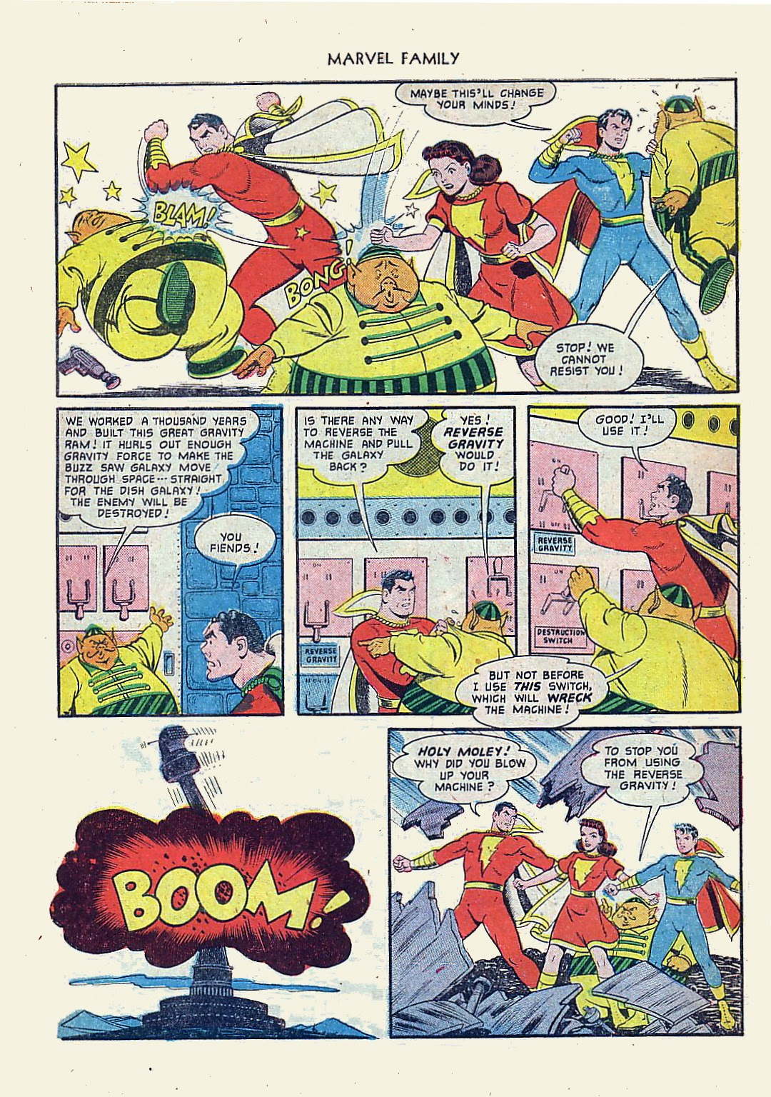 The Marvel Family issue 61 - Page 10