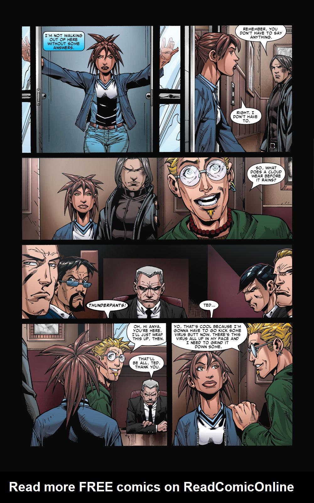 Read online Amazing Fantasy (2004) comic -  Issue #4 - 17