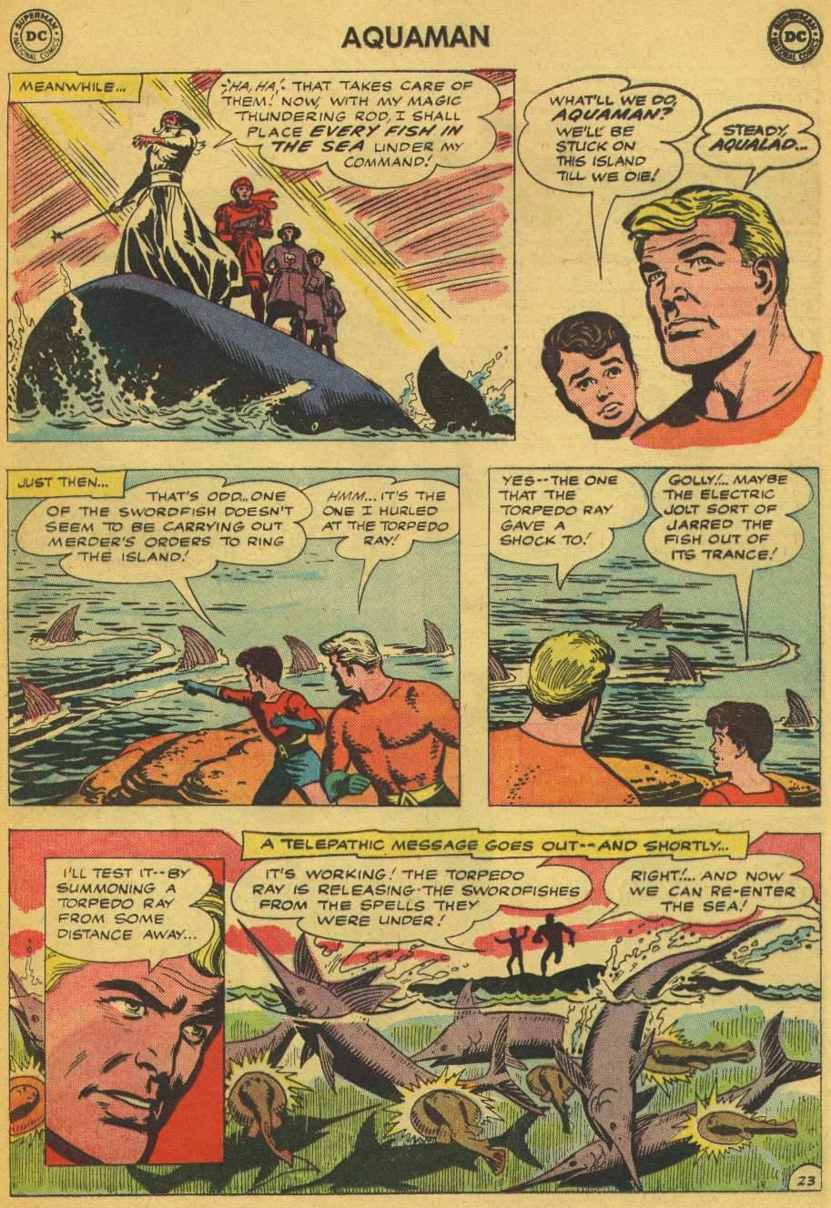 Read online Aquaman (1962) comic -  Issue #5 - 29