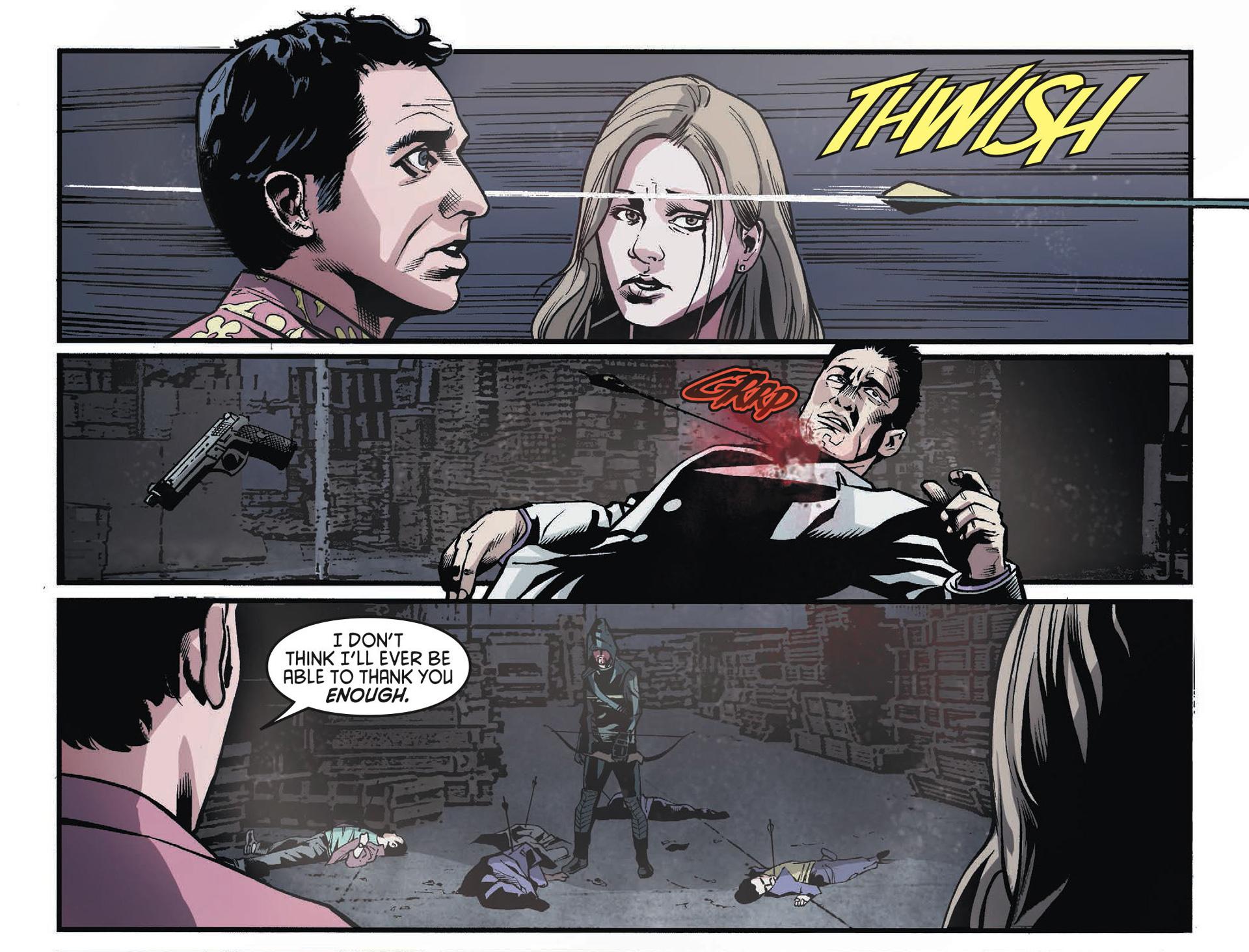 Read online Arrow [II] comic -  Issue #34 - 21