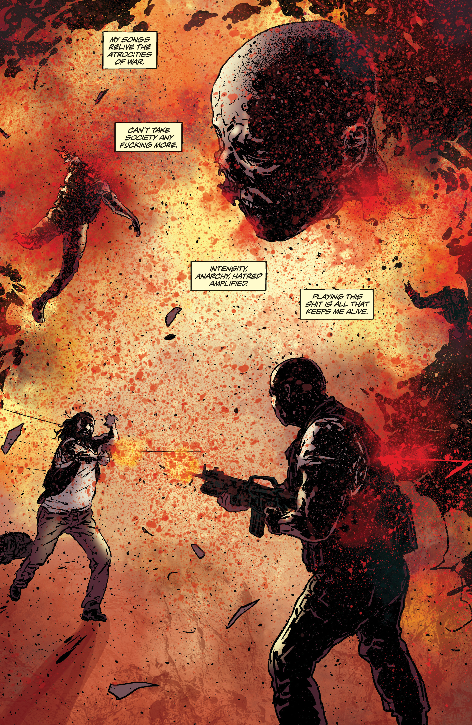 Read online Slayer: Repentless comic -  Issue #3 - 16