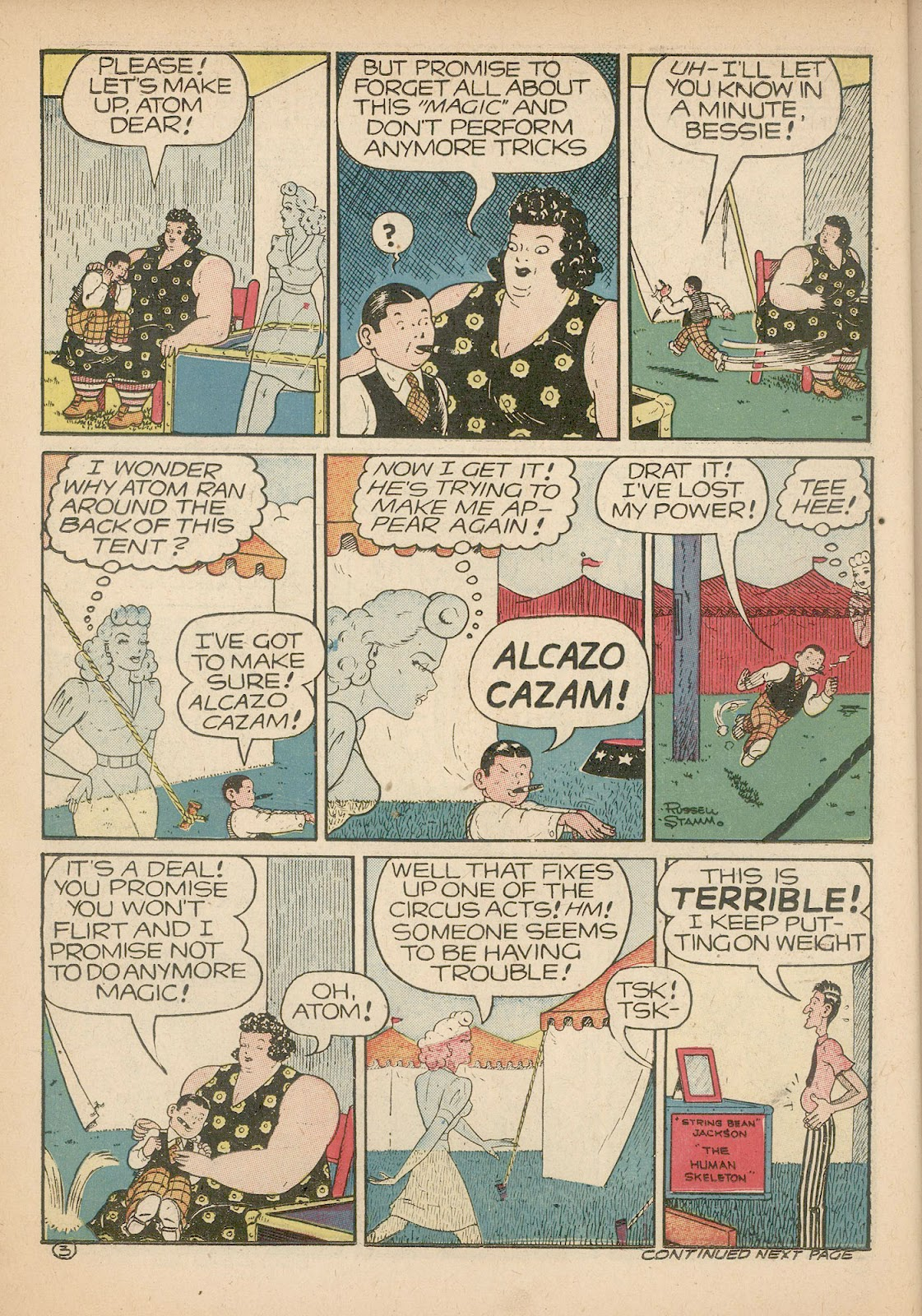 Read online Famous Funnies comic -  Issue #98 - 26