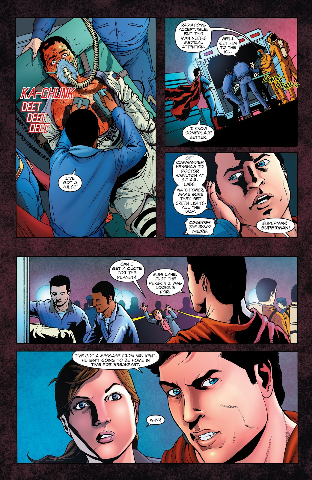 Read online Smallville Season 11 [II] comic -  Issue # TPB 1 - 67