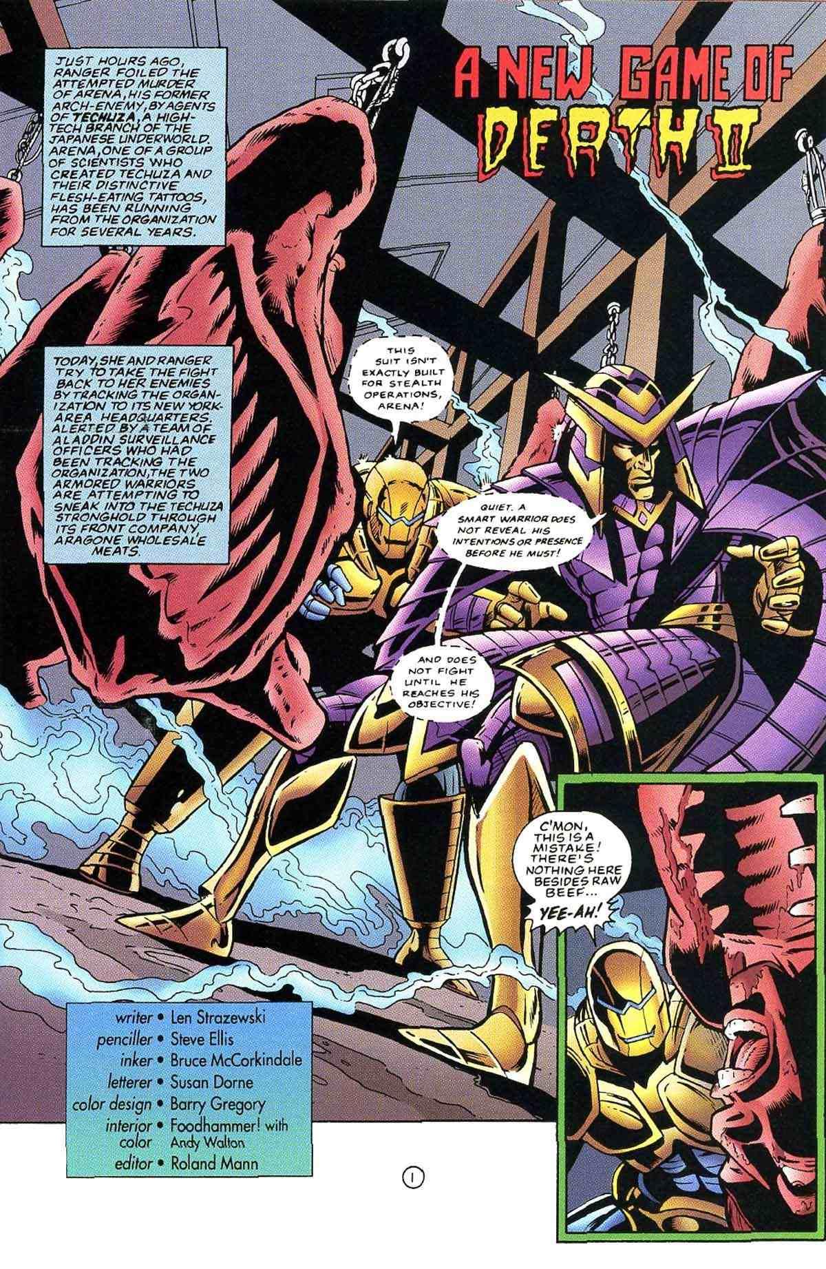 Read online Ultraverse Premiere comic -  Issue #10 - 34