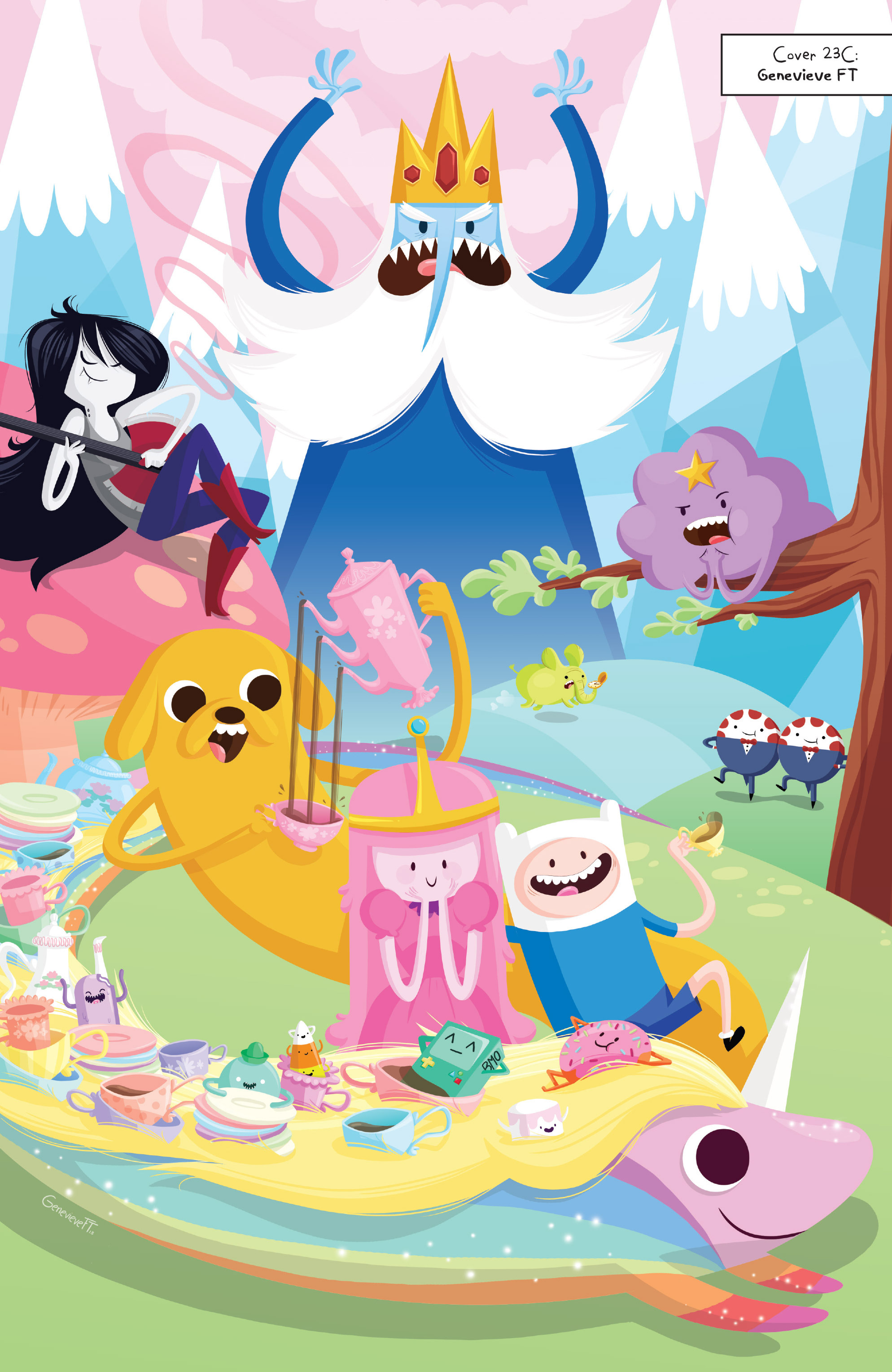 Read online Adventure Time comic -  Issue #Adventure Time _TPB 5 - 113
